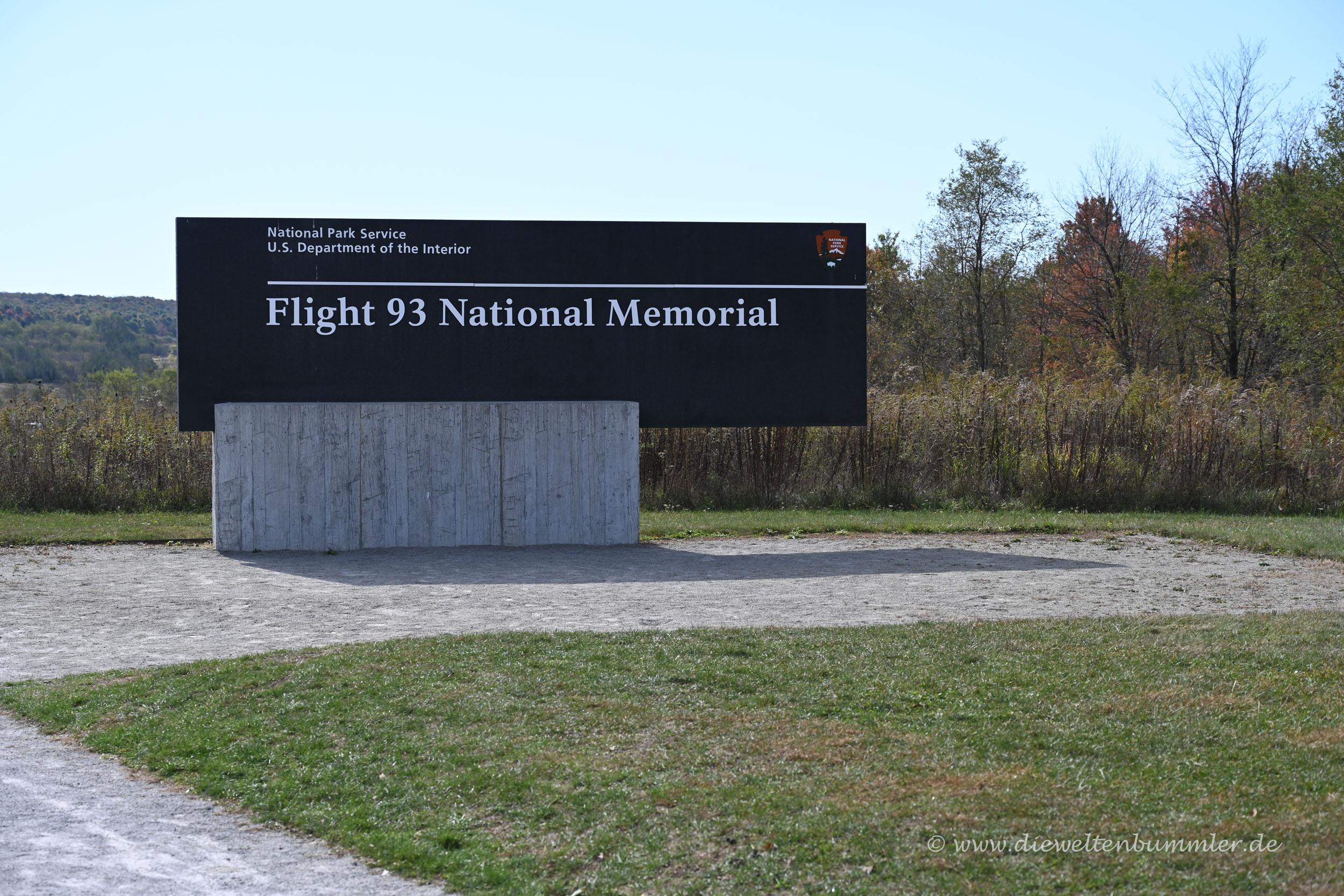 Gedenkstätte von Flight 93