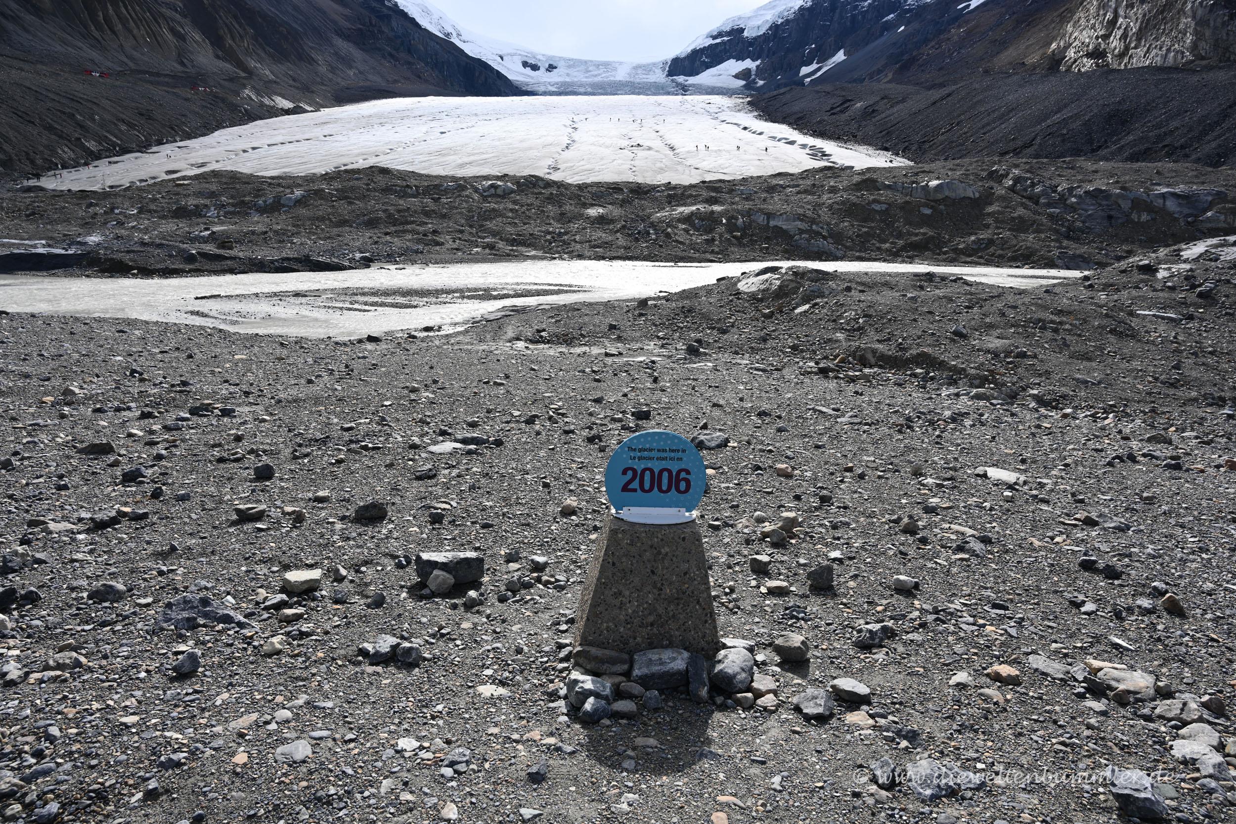 Gletscher-Zeitlinie