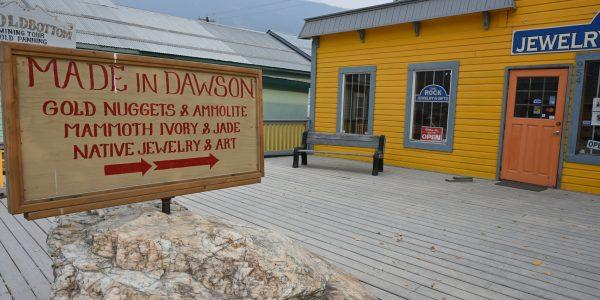 Gold in Dawson