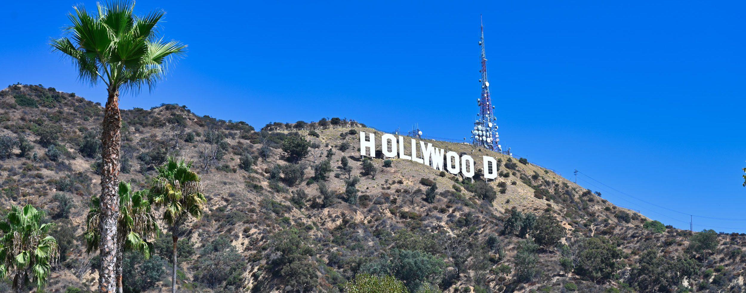 Hollywood-Schriftzug