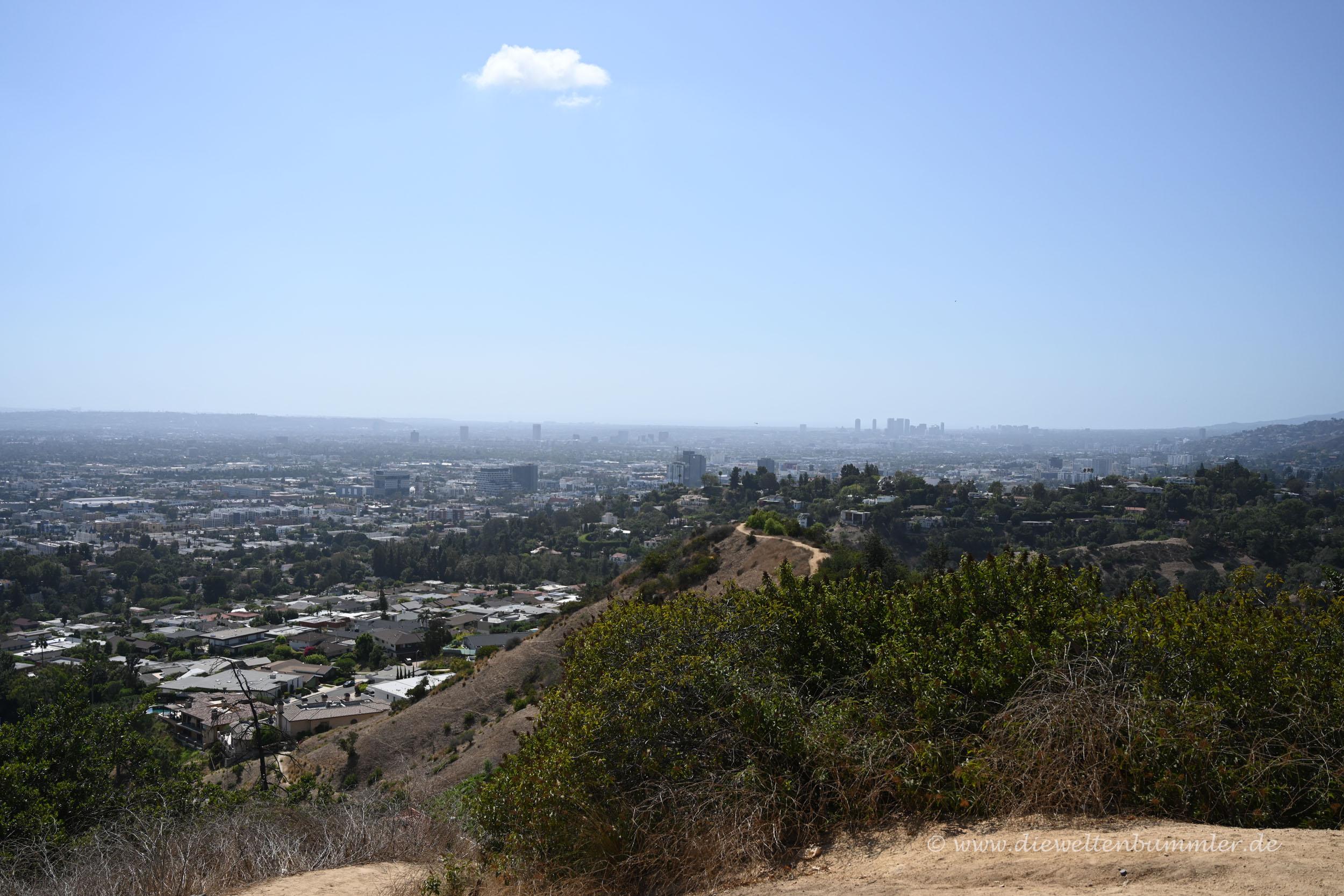 In der Ferne Beverly Hills