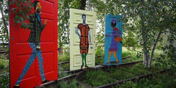 Kunst auf der Highline
