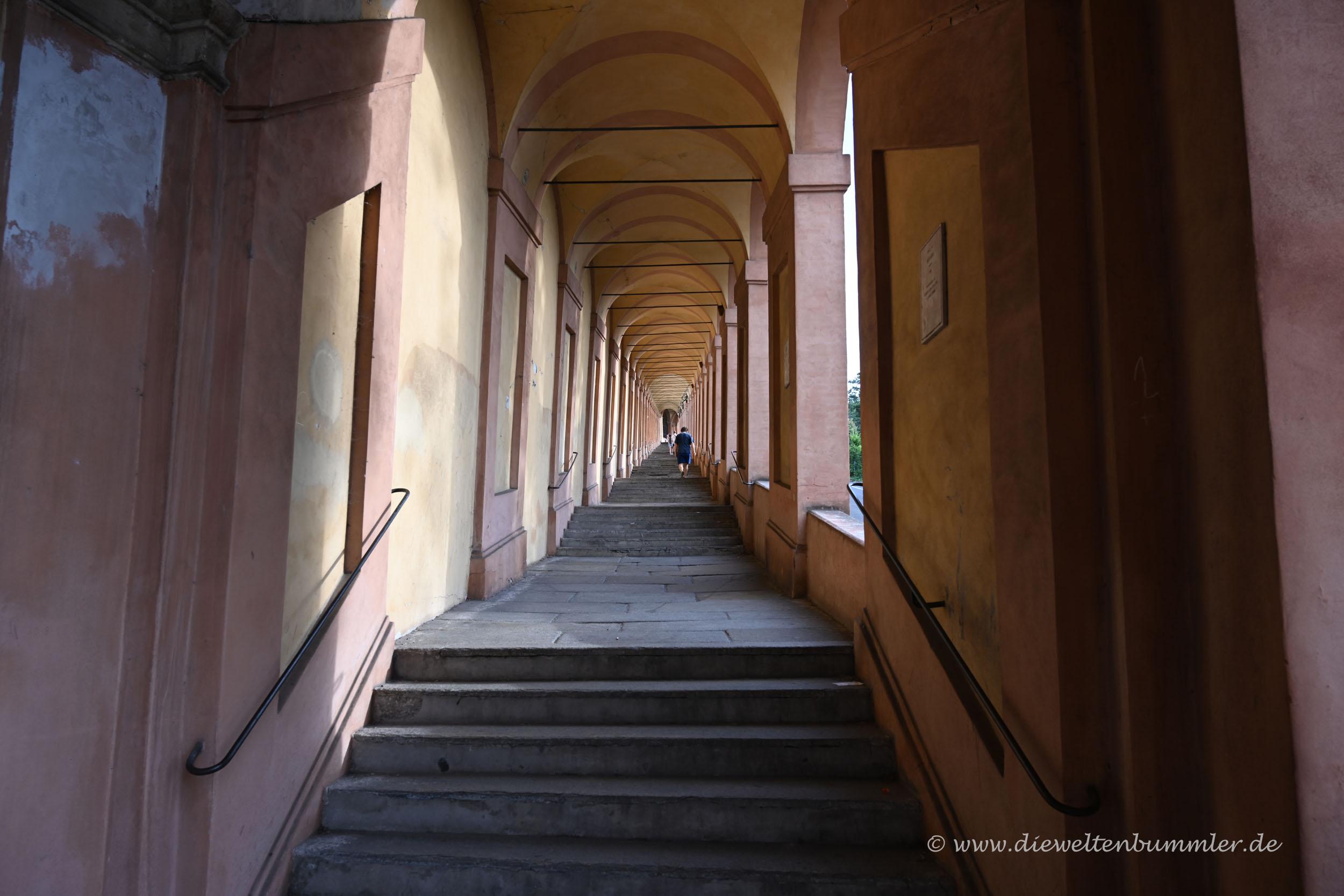 Laubengang in Bologna