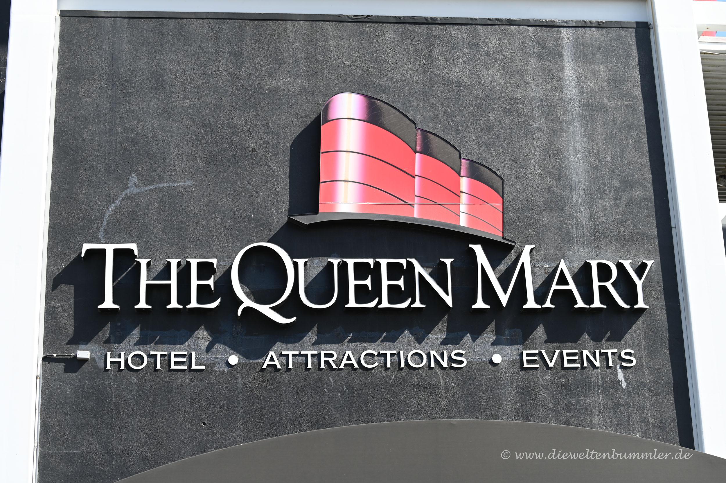 Logo der Queen Mary