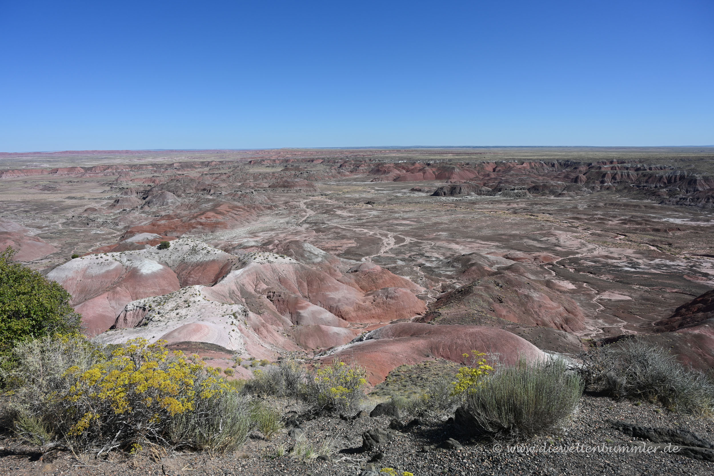 Painted Desert im Nationalpark