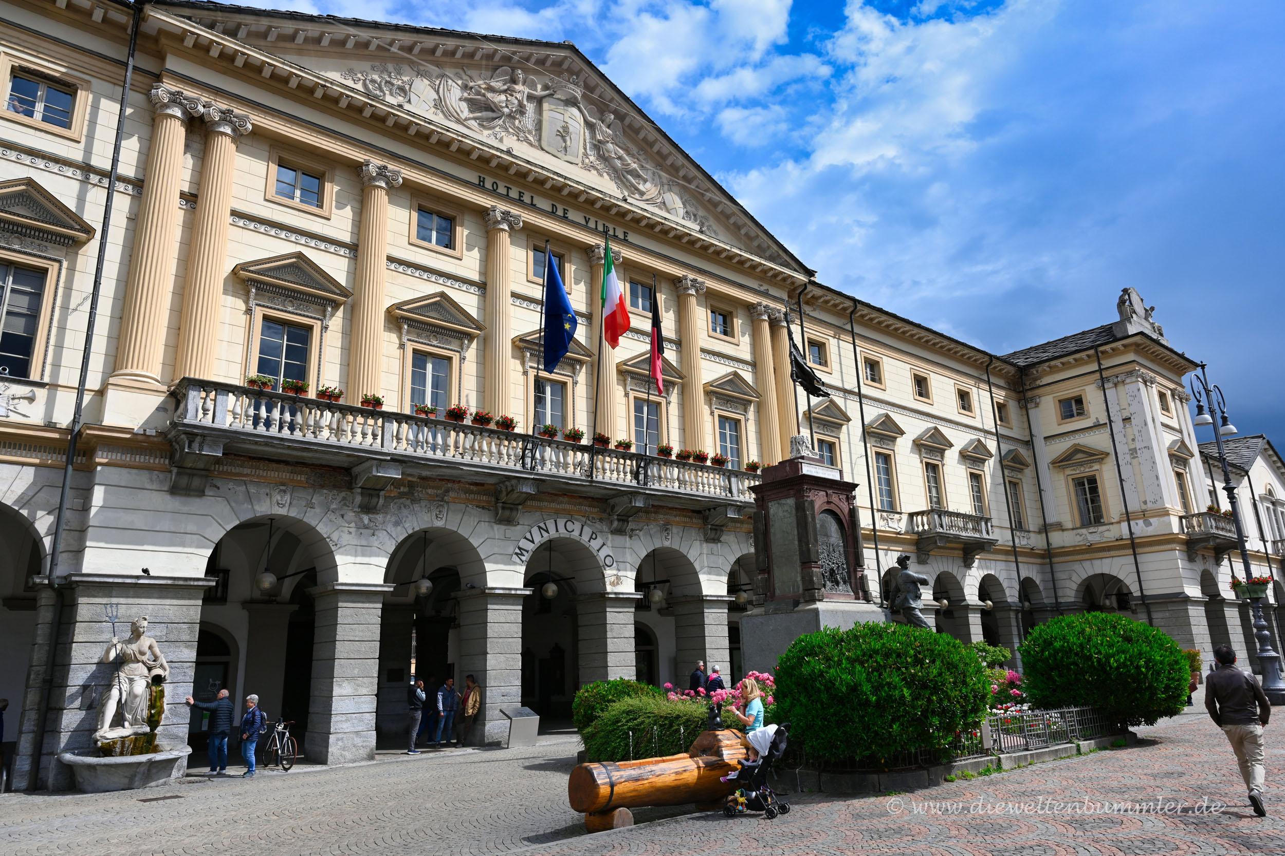 Rathaus von Aosta