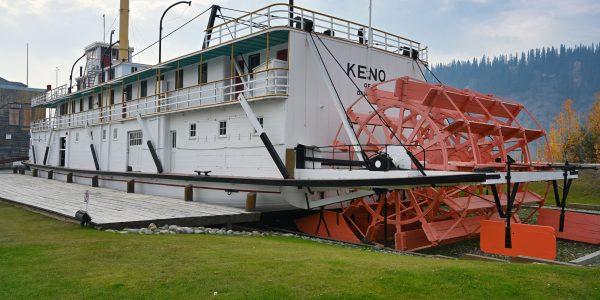SS Keno am Yukon River