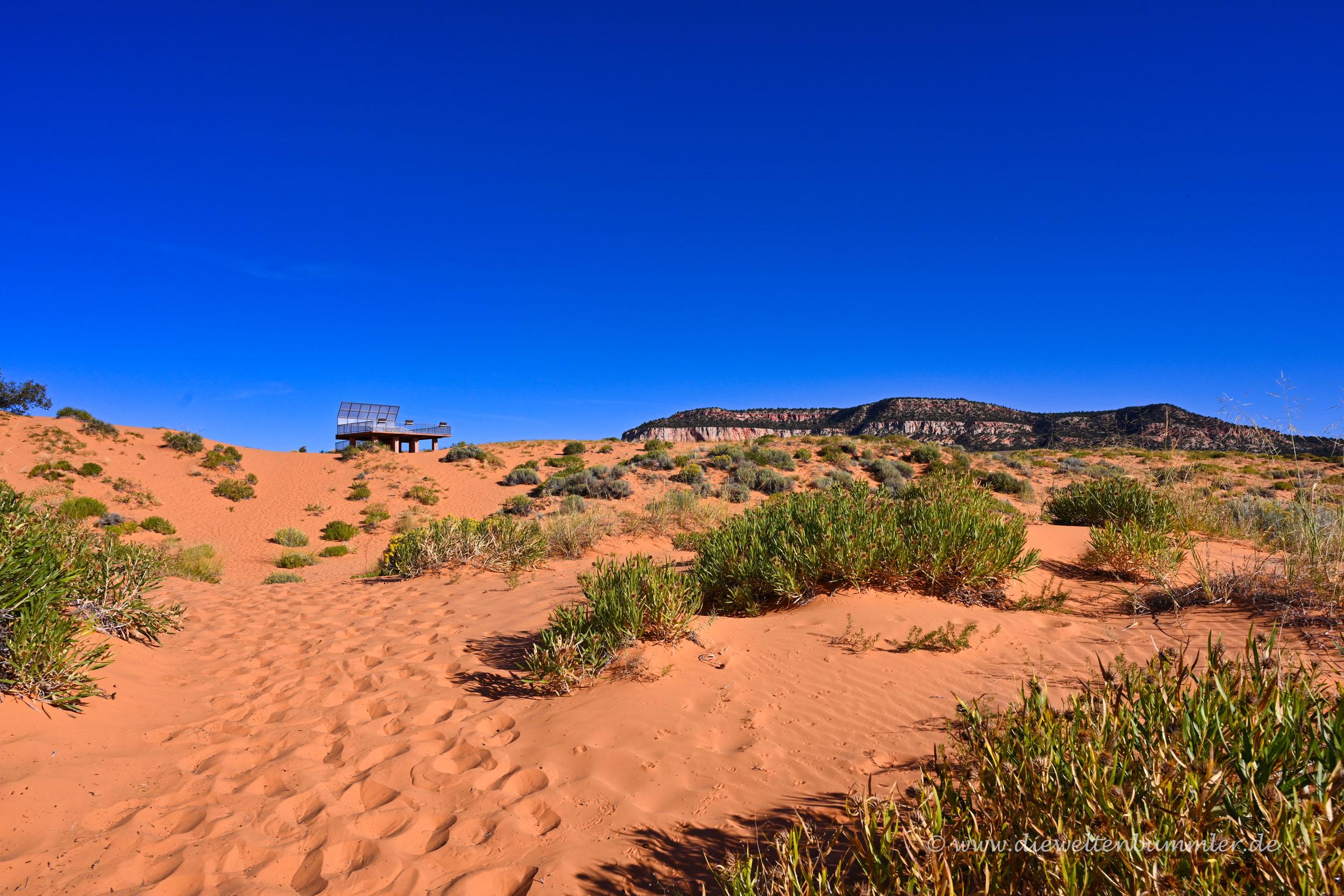 Sandige Landschaft