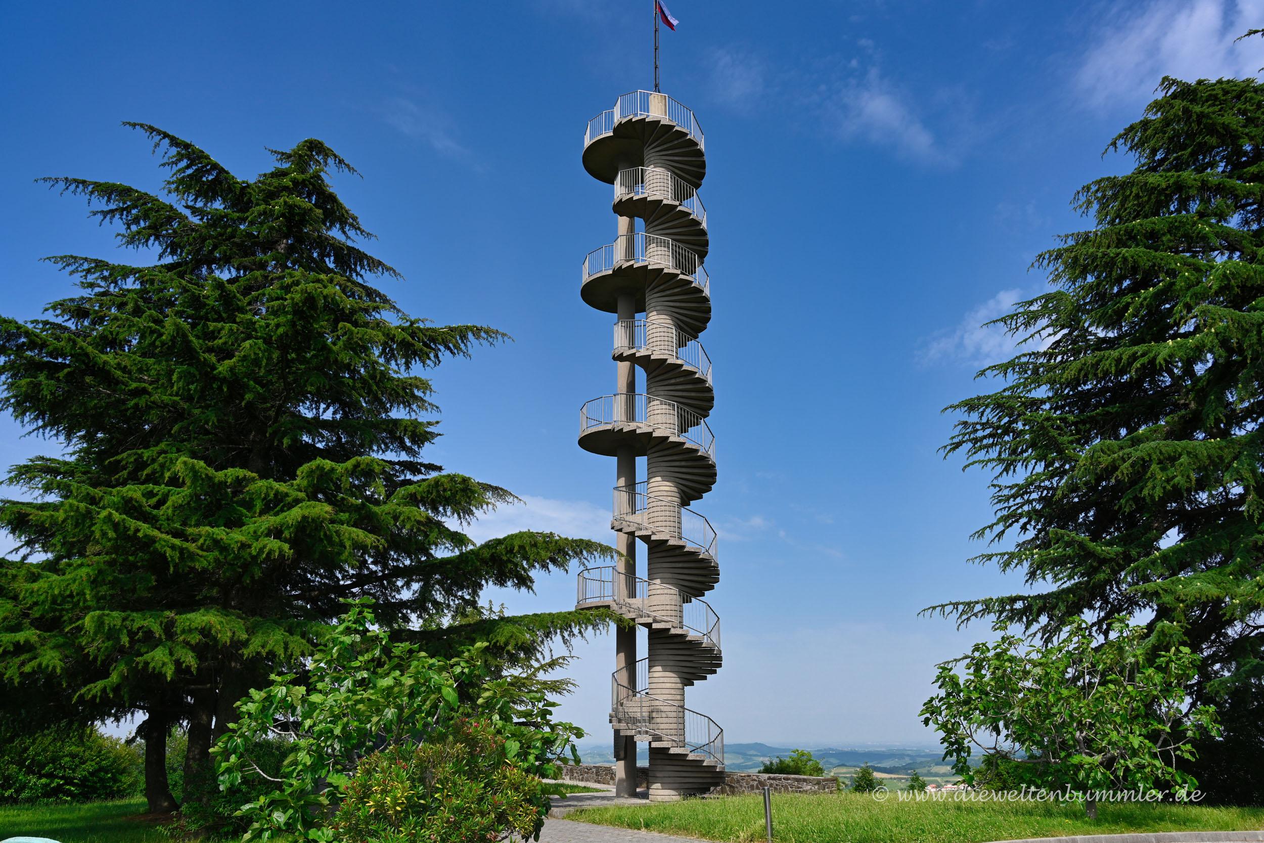 Turm im Westen Sloweniens