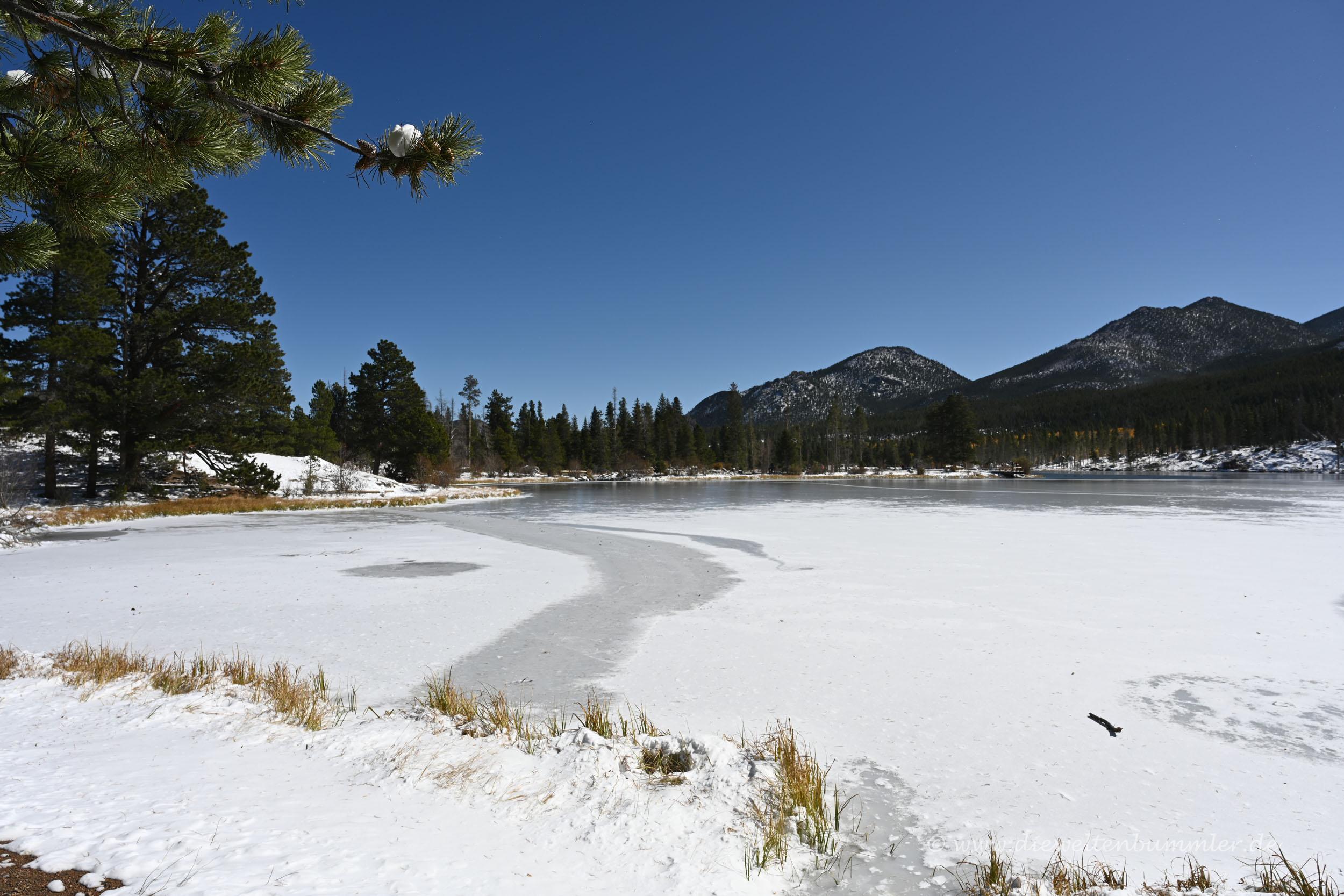 Vereister Sprague Lake