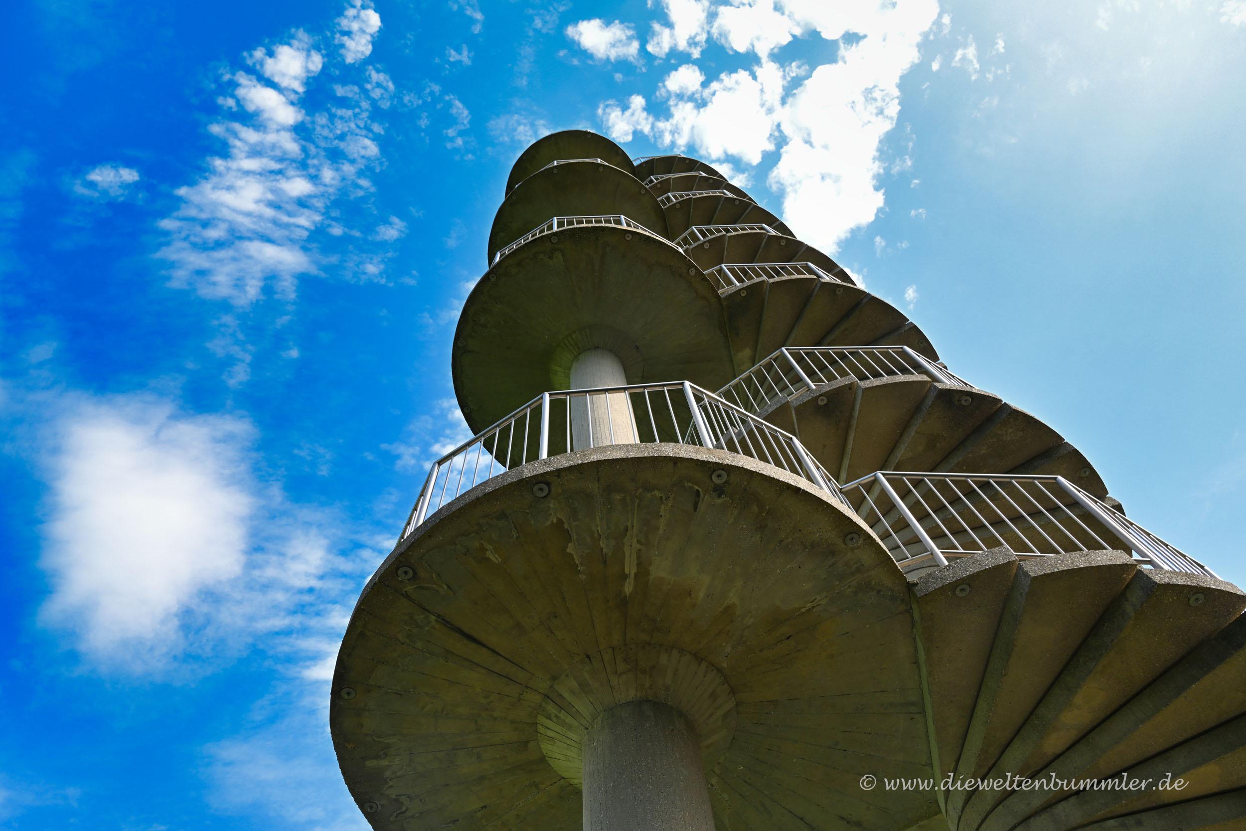 Wendeltreppe als Turm