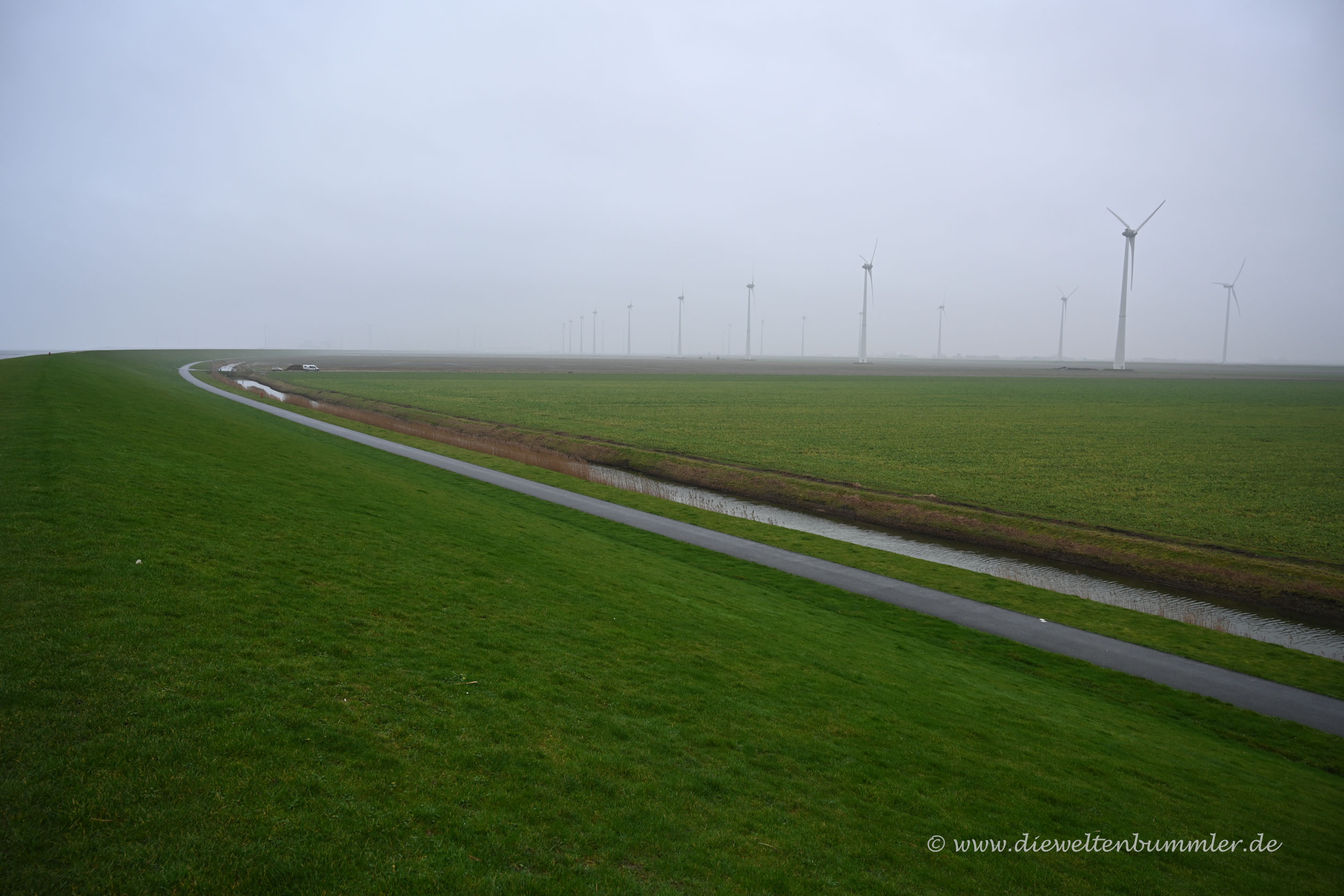 Windpark am Noordkaap
