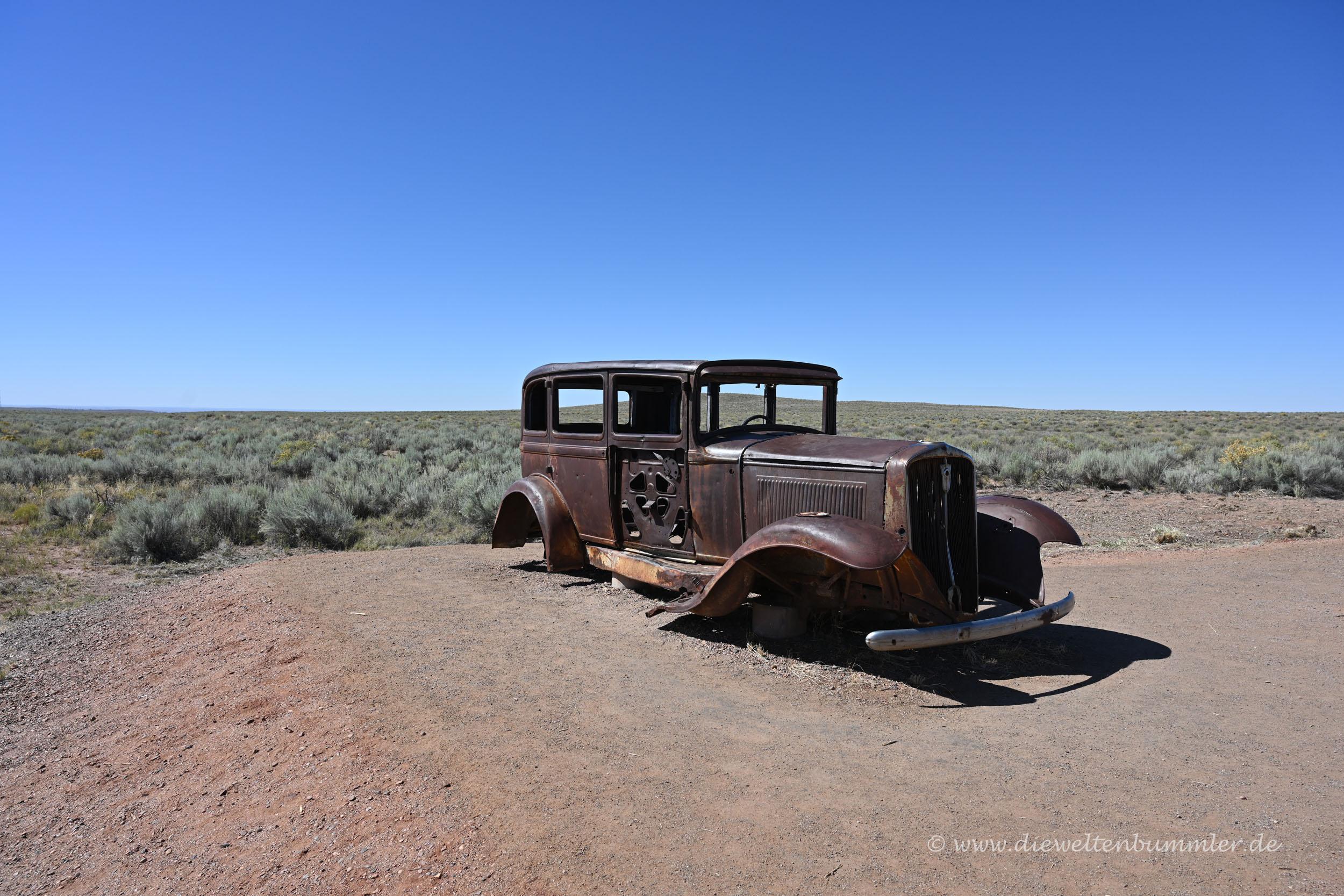Wrack auf der Route 66