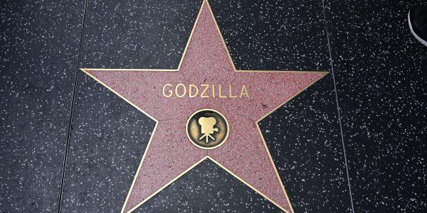 Auch Godzilla hat einen Stern