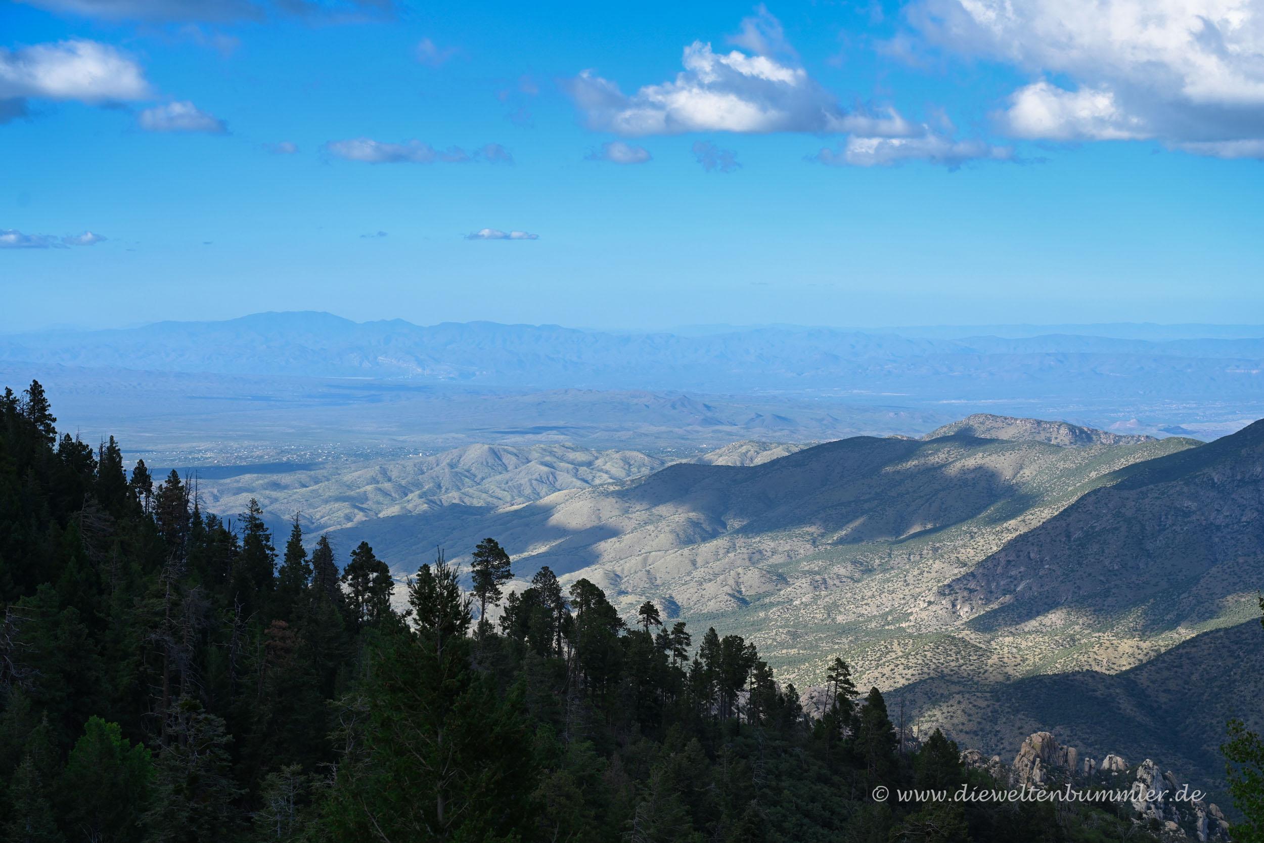 Blick vom Mount Lemmon
