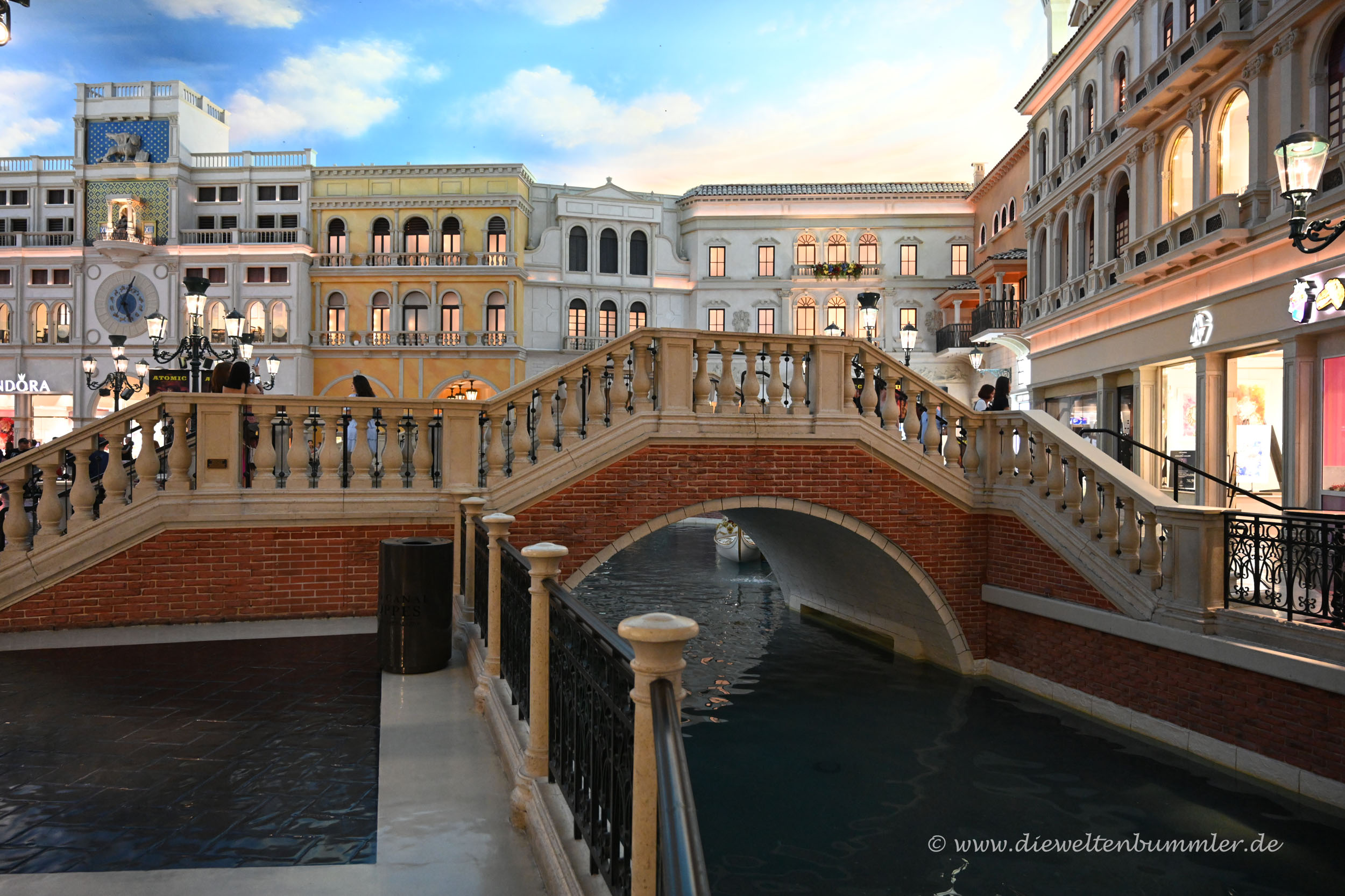 Brücke wie in Venedig