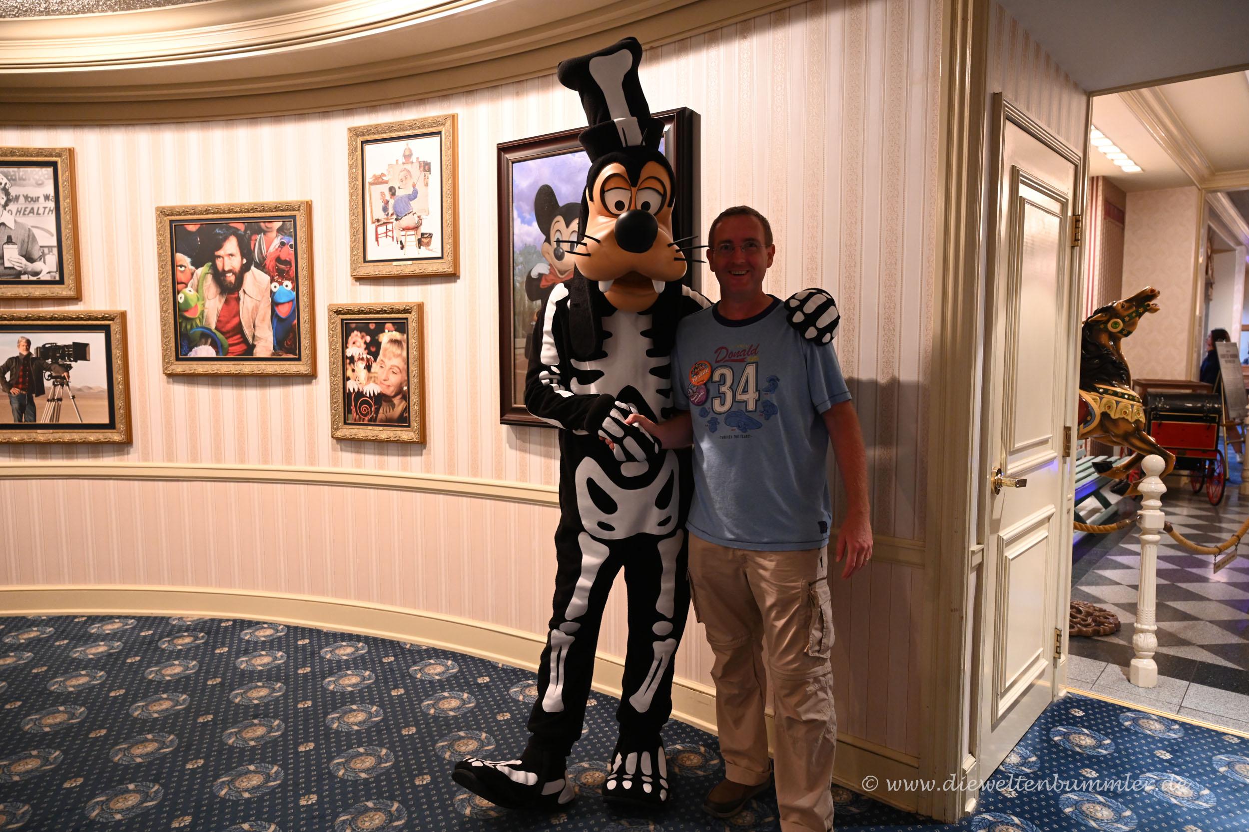 Da bin ich mit Goofy