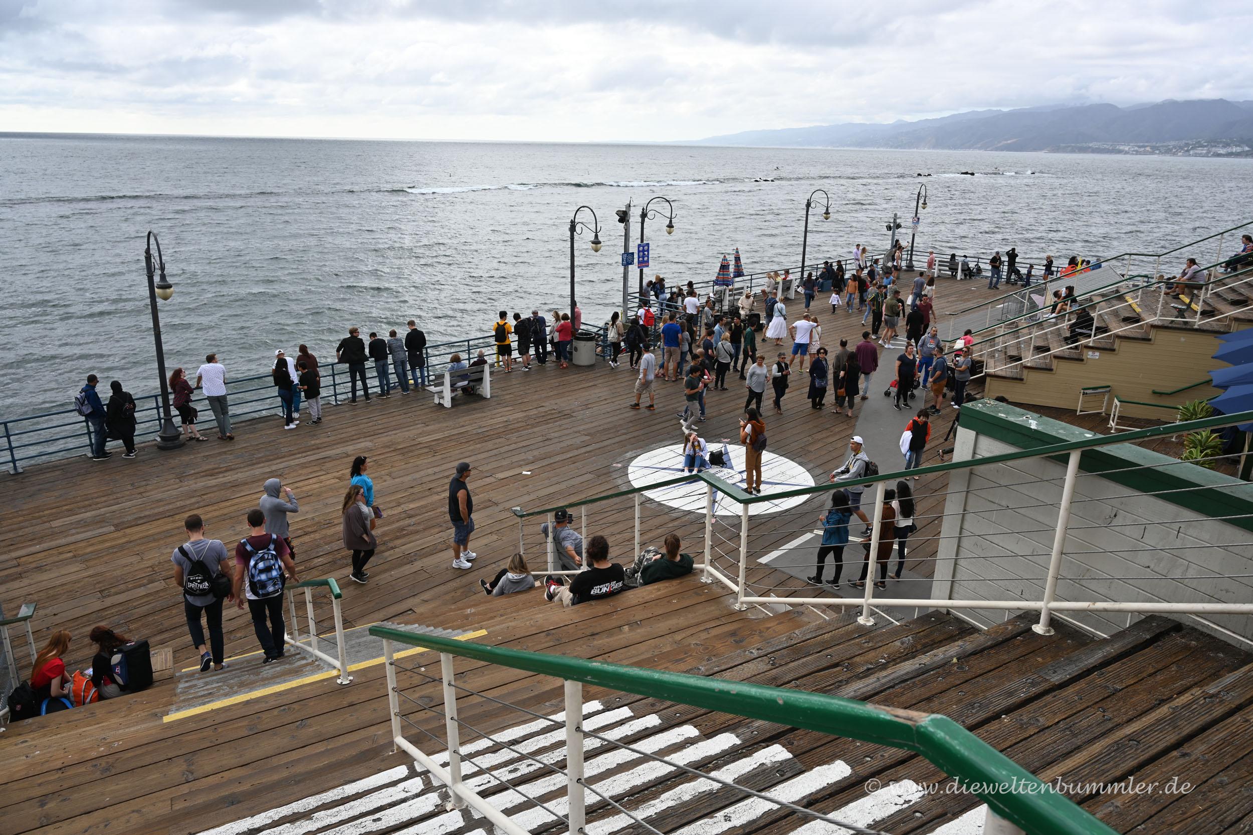 Das Ende vom Santa Monica Pier
