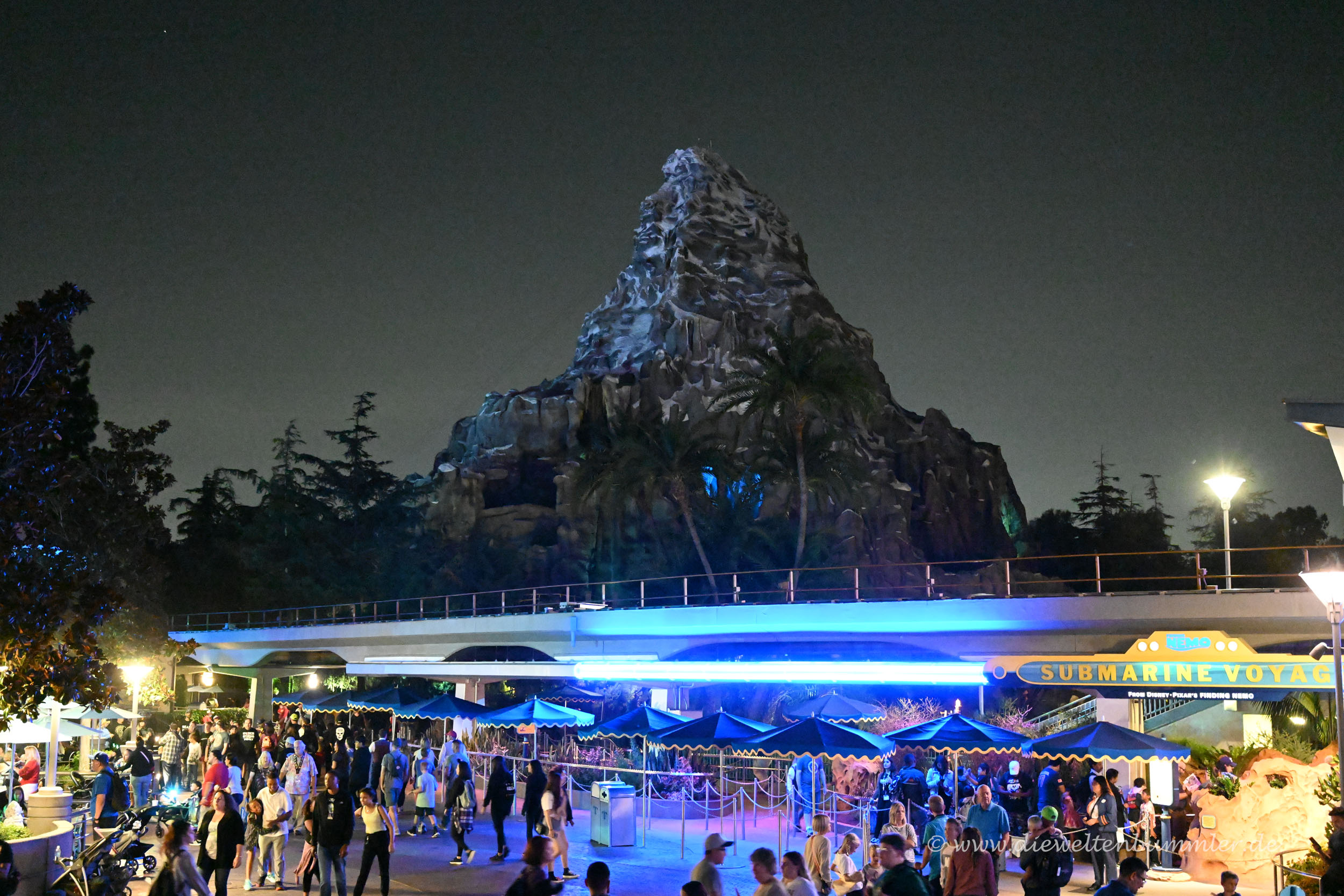 Das Matterhorn im Disneyland