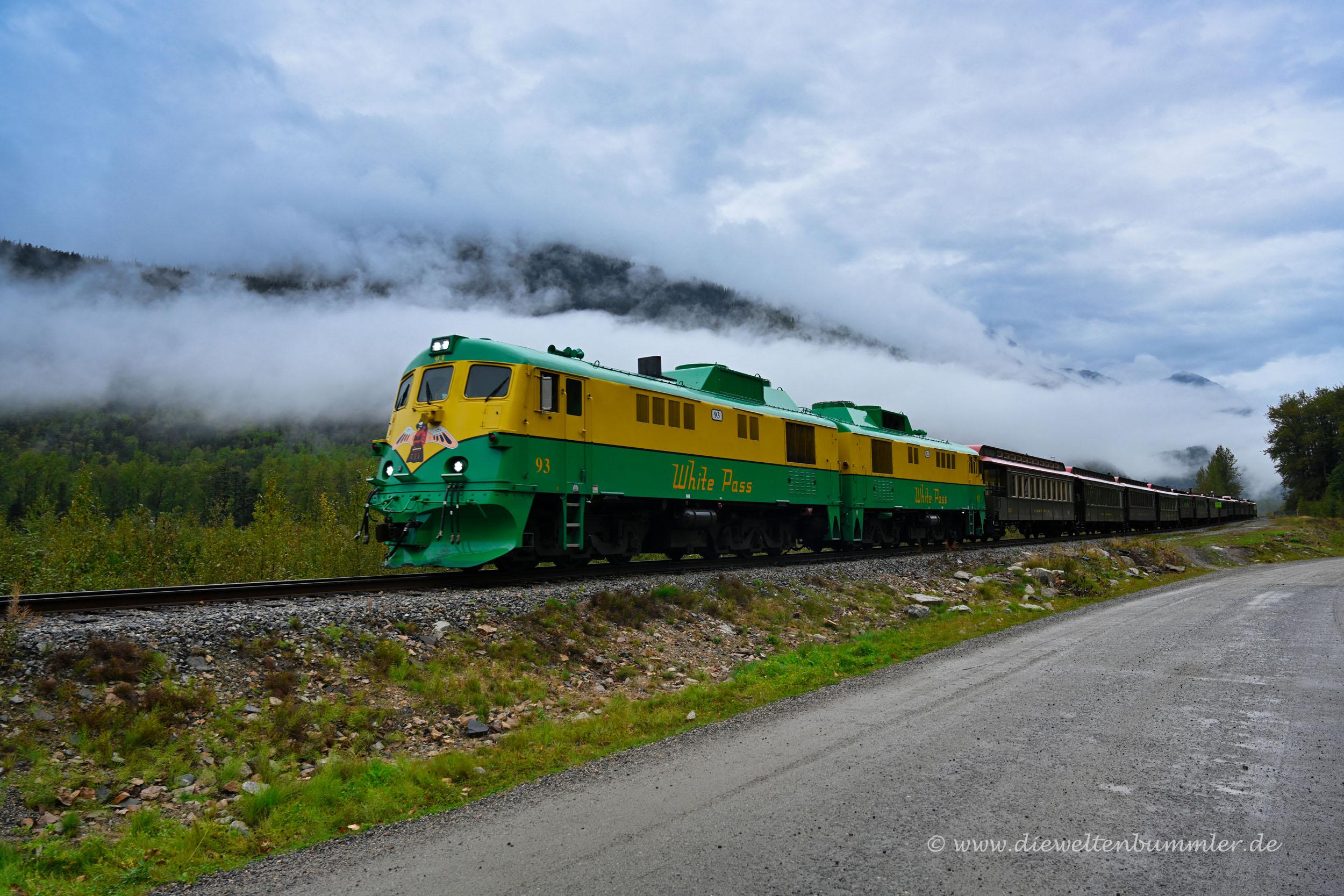 Der Zug über den White Pass