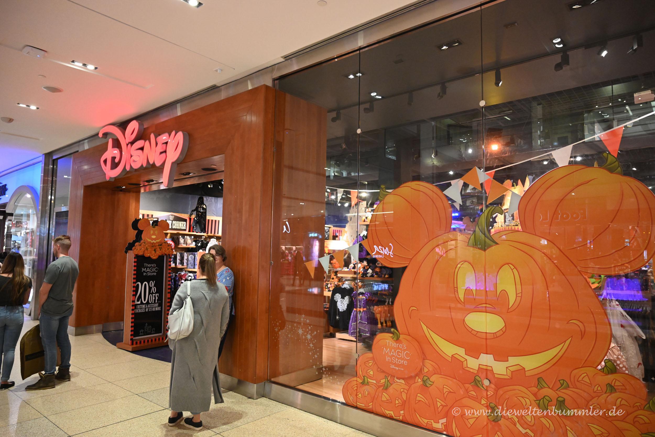 Disney Shop darf nicht fehlen