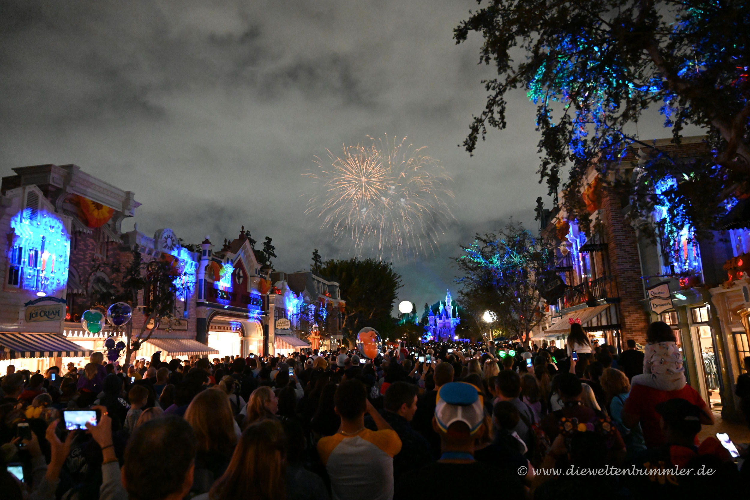 Feuerwerk am Schloss