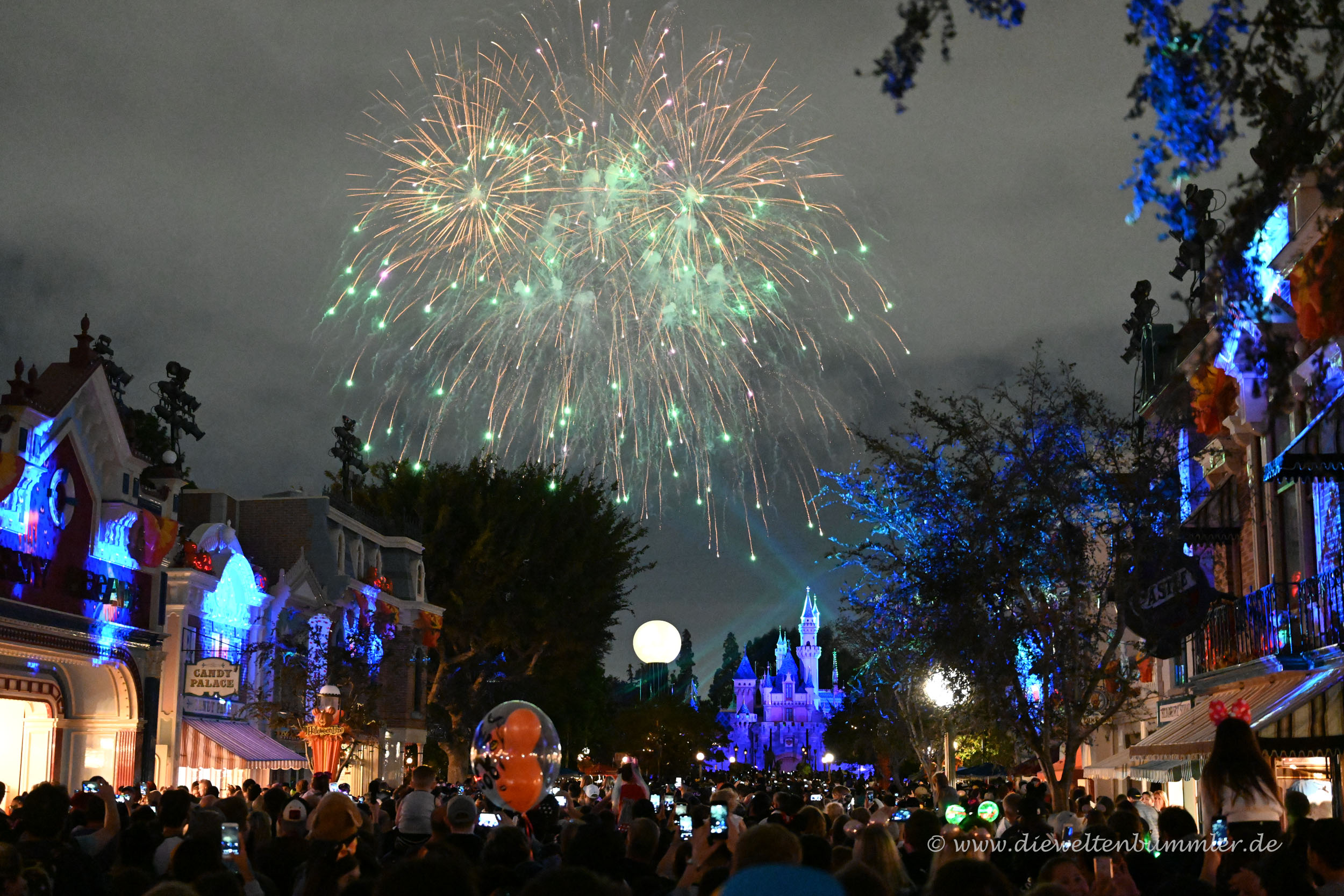 Feuerwerk auf der Main Street