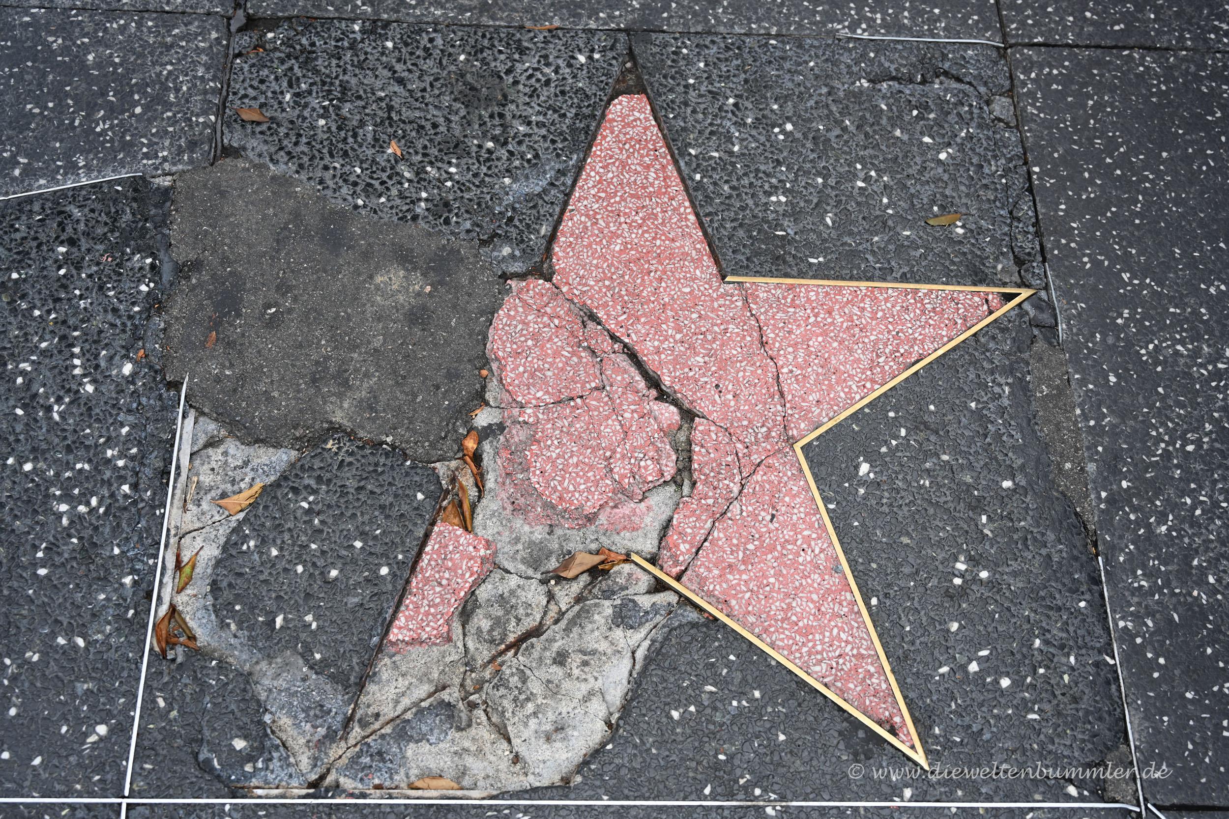 Leider sieht man auch solche Sterne