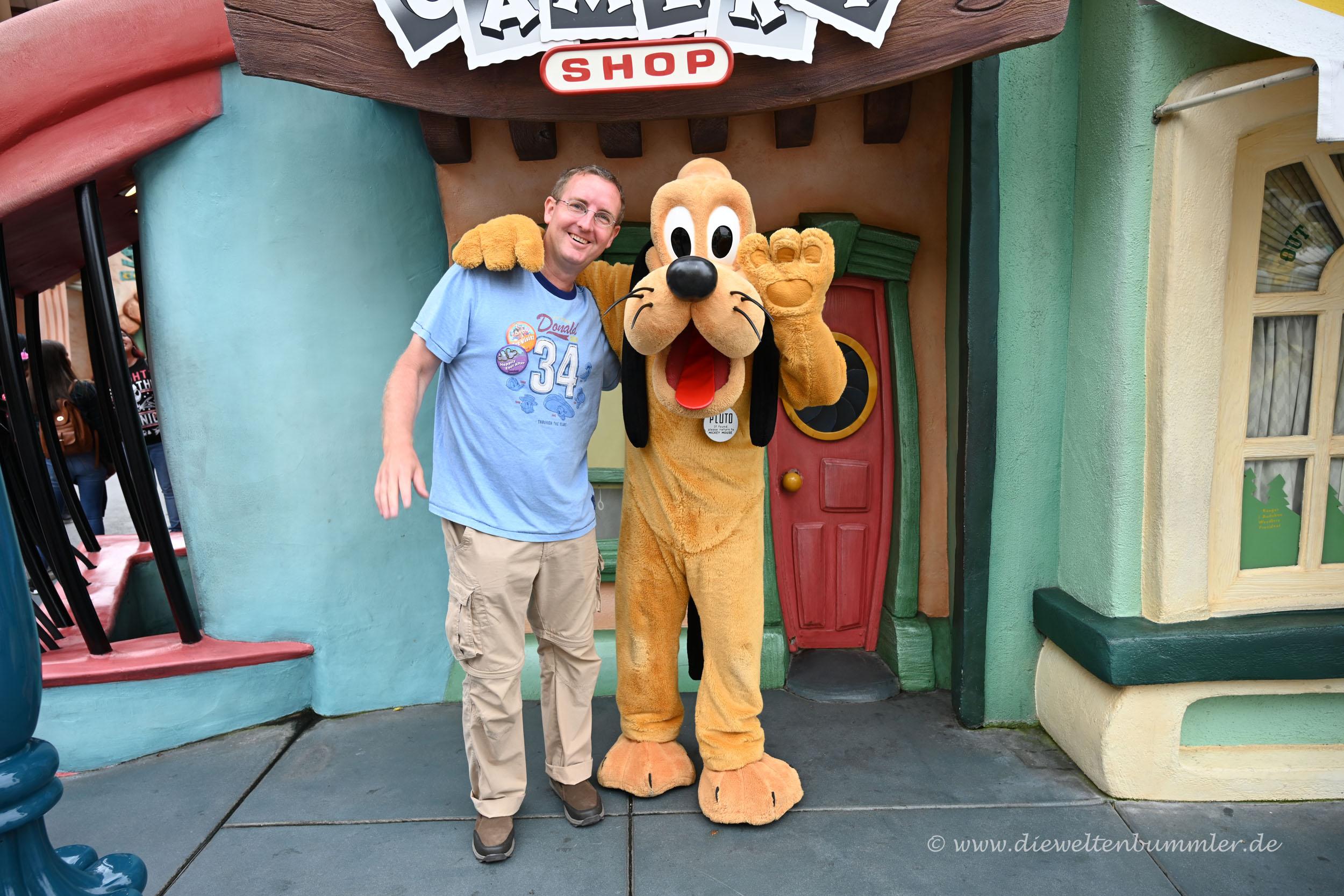 Michael Moll mit Pluto