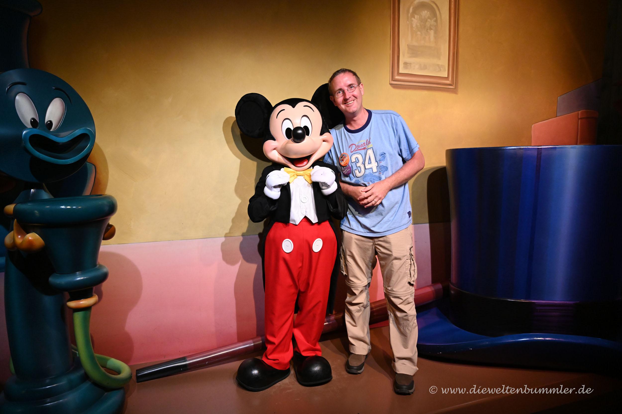 Michael Moll und Micky Maus