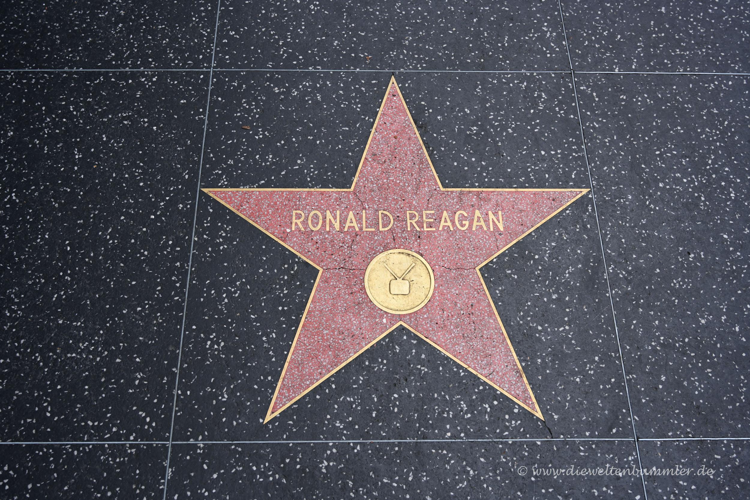 Reagan war bekanntlich auch Schauspieler