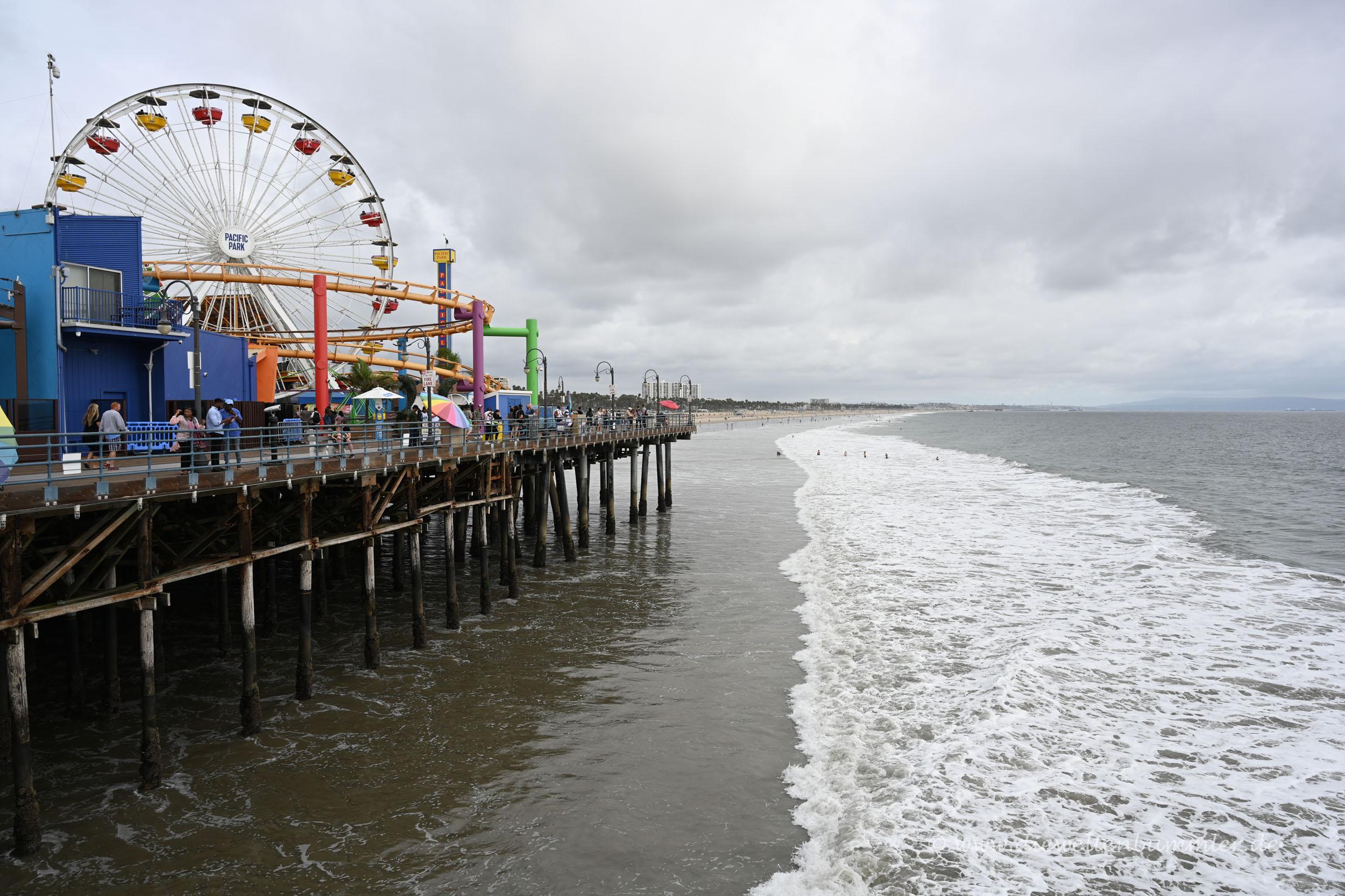 Riesenrad auf dem Pier