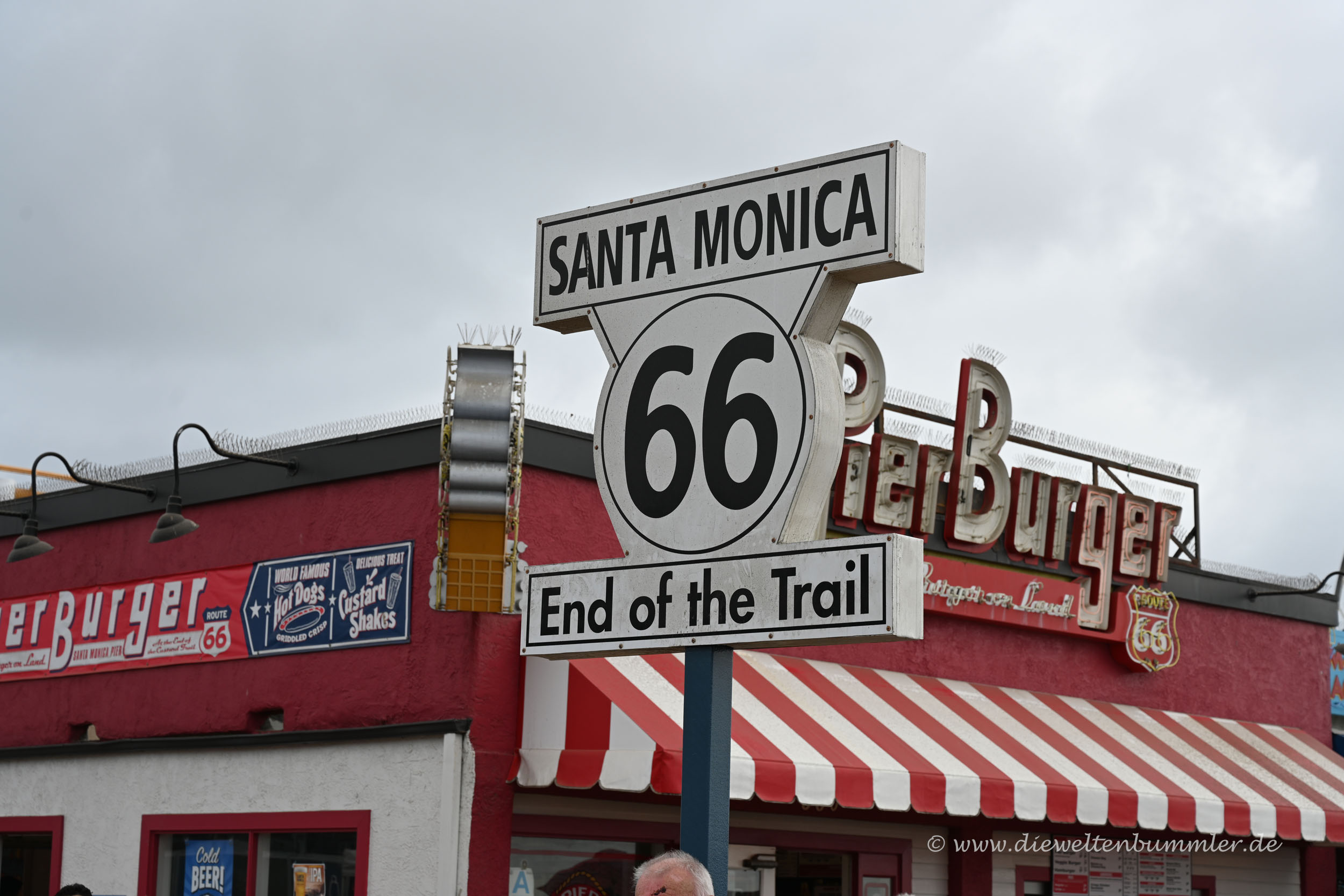 Route 66 - Ende