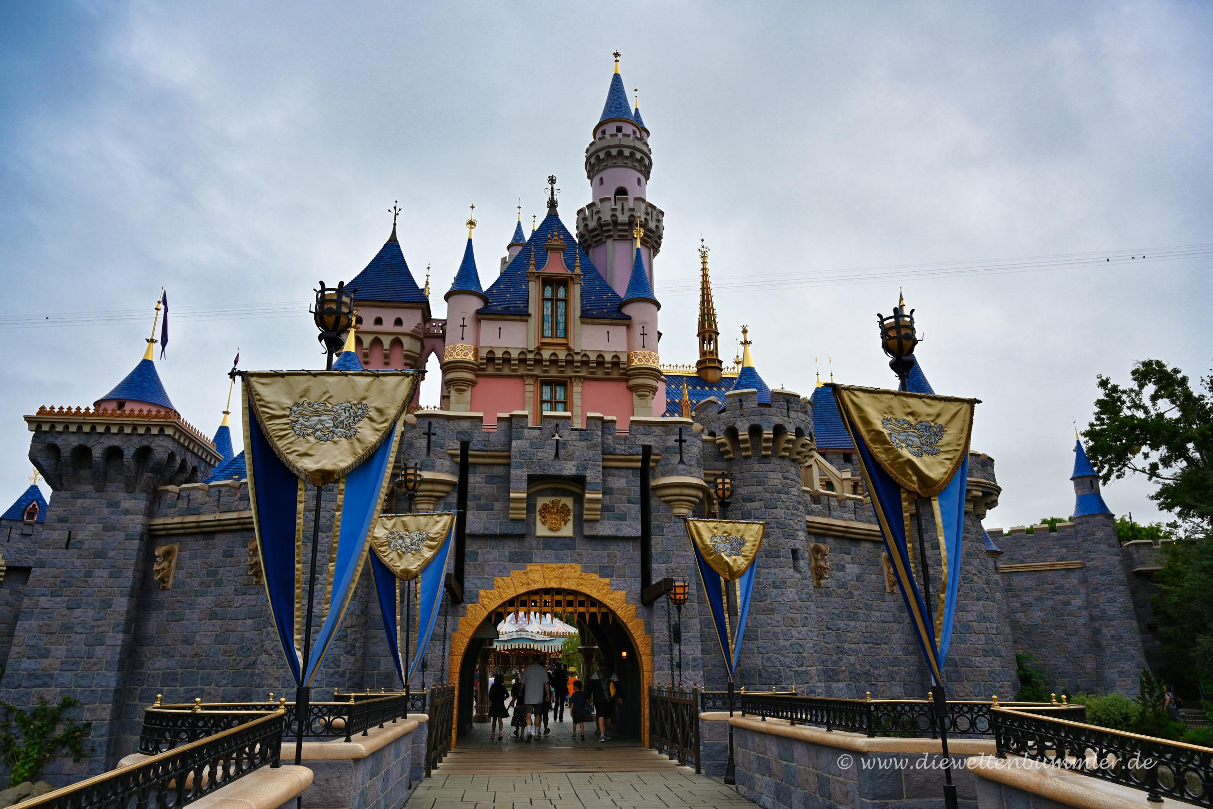 Schloss im Disneyland Anaheim