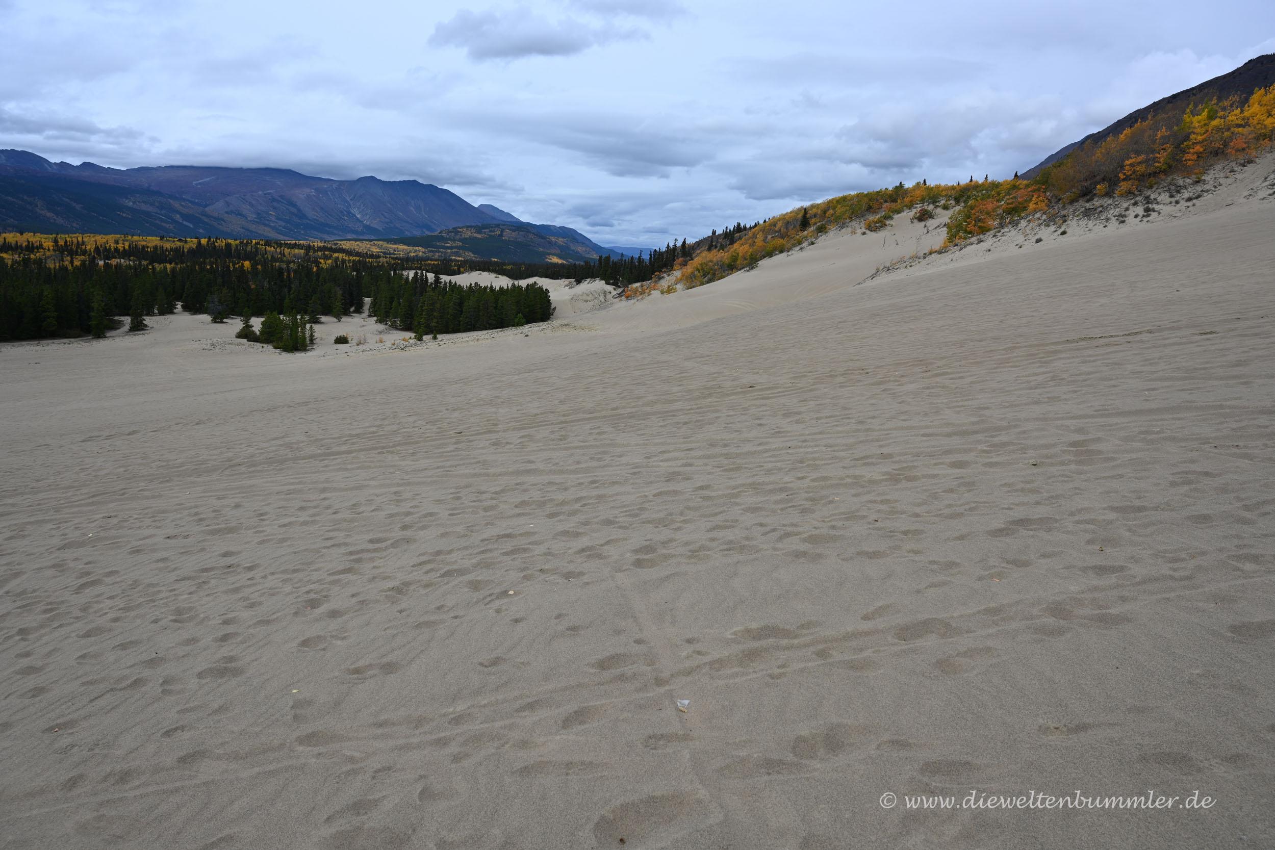 Sehr viel Sand