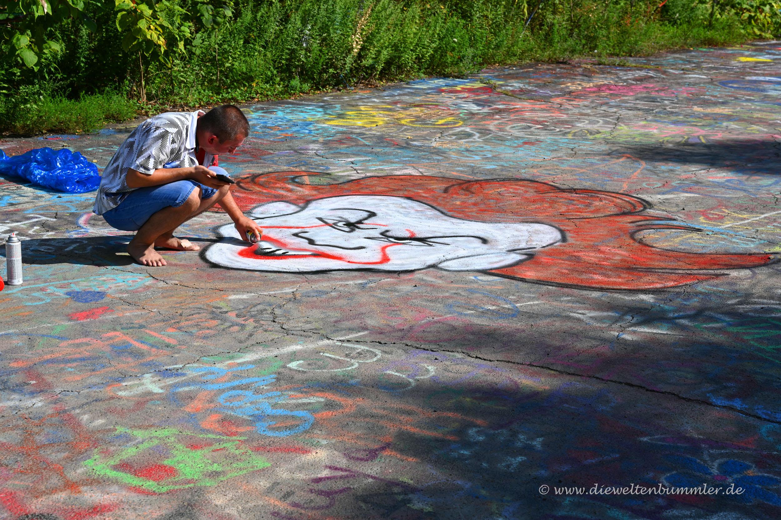 Und ein weiteres Graffiti