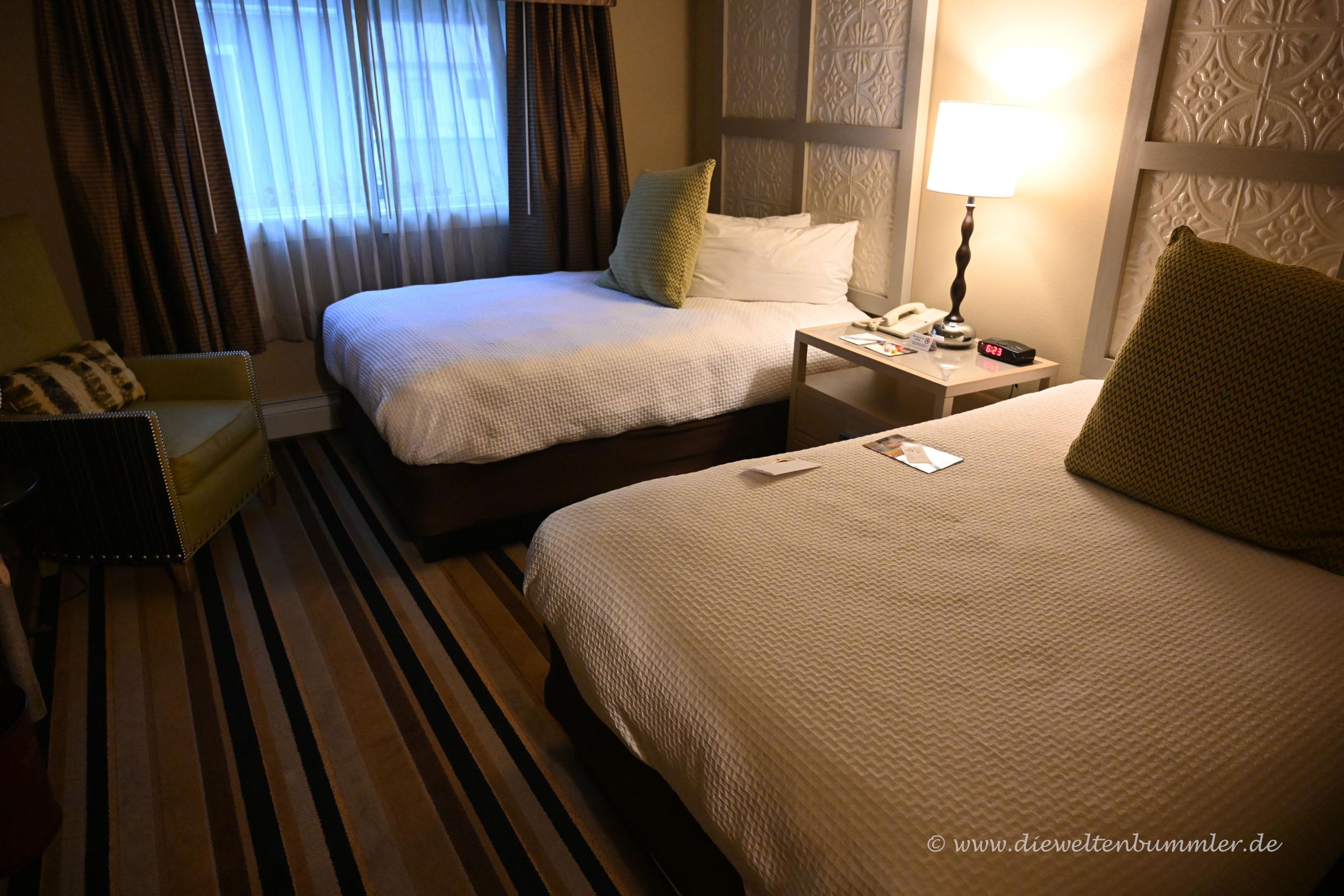 Uriges Hotelzimmer