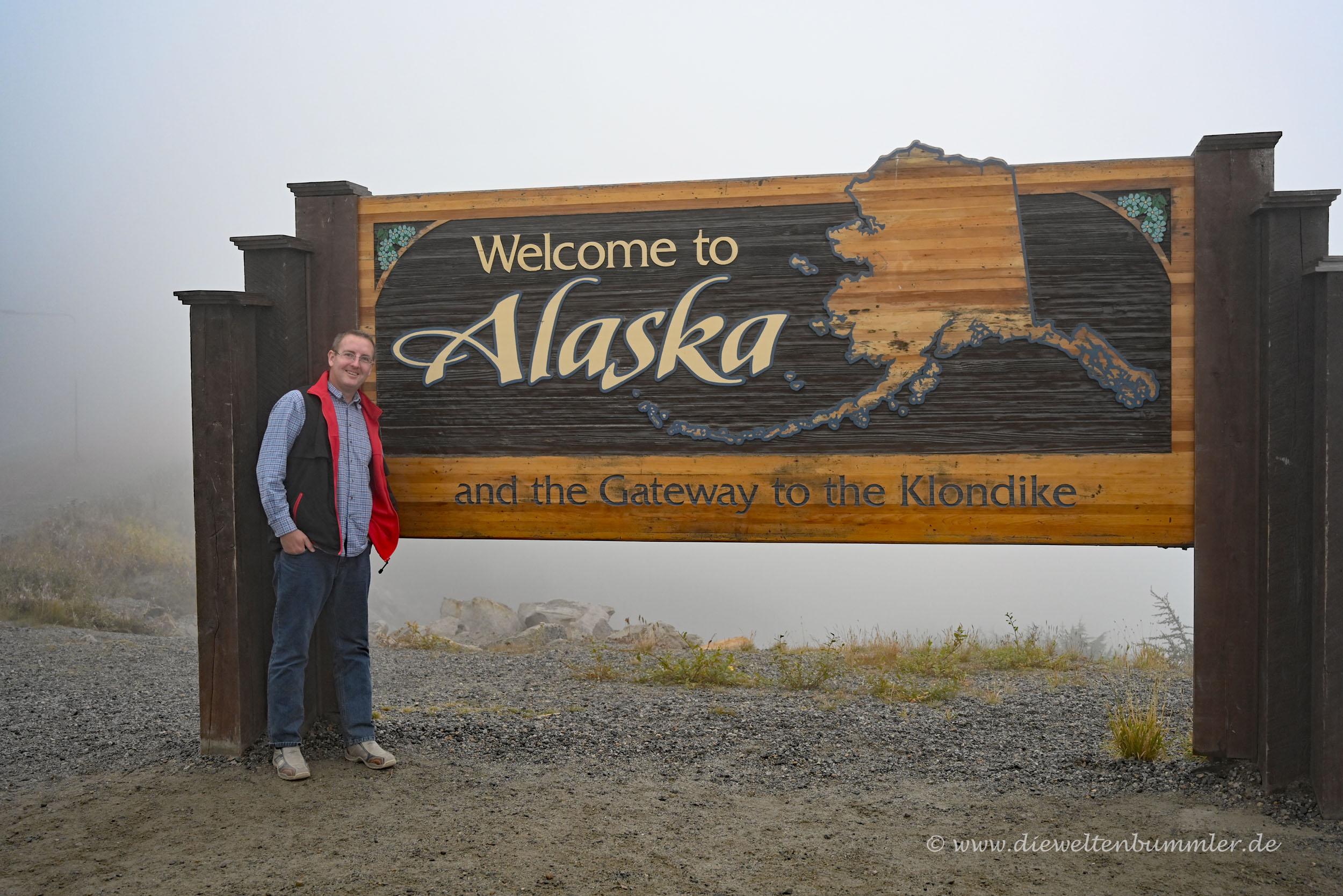 Welcome Sign in Alaska