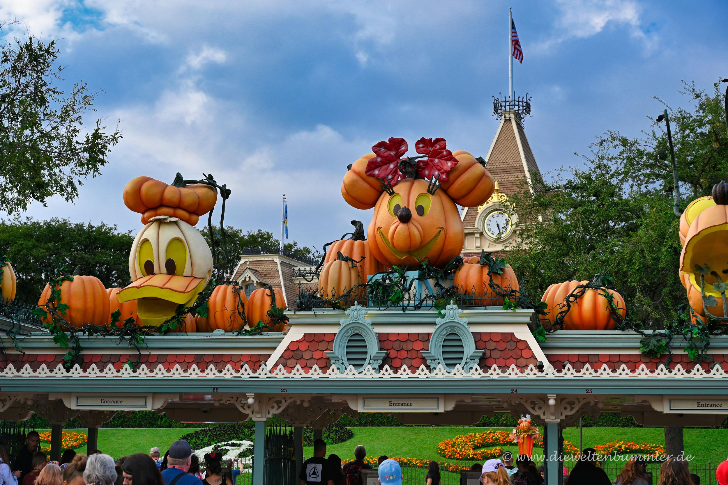Wir waren Halloween dort