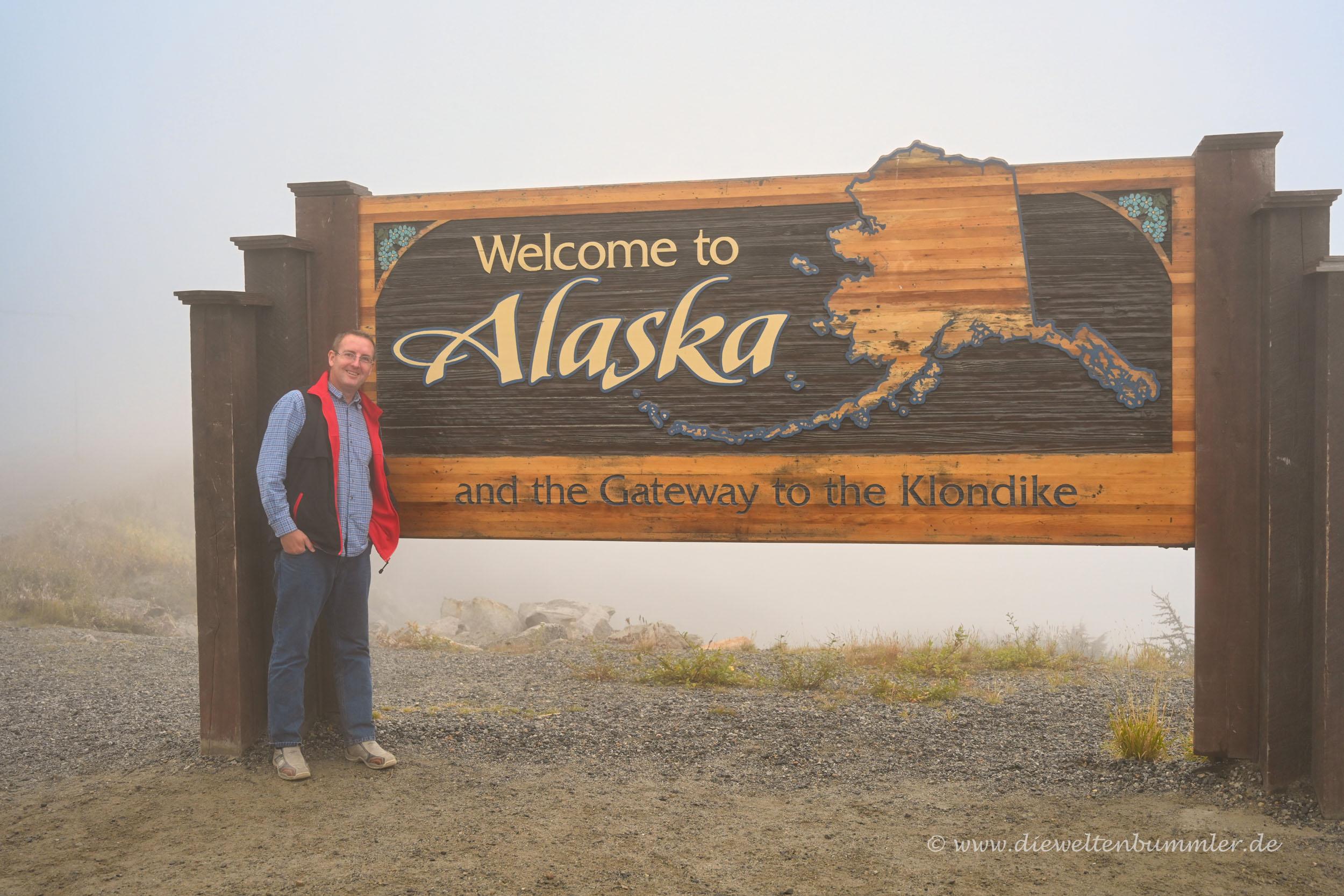 Alaska im Nebel