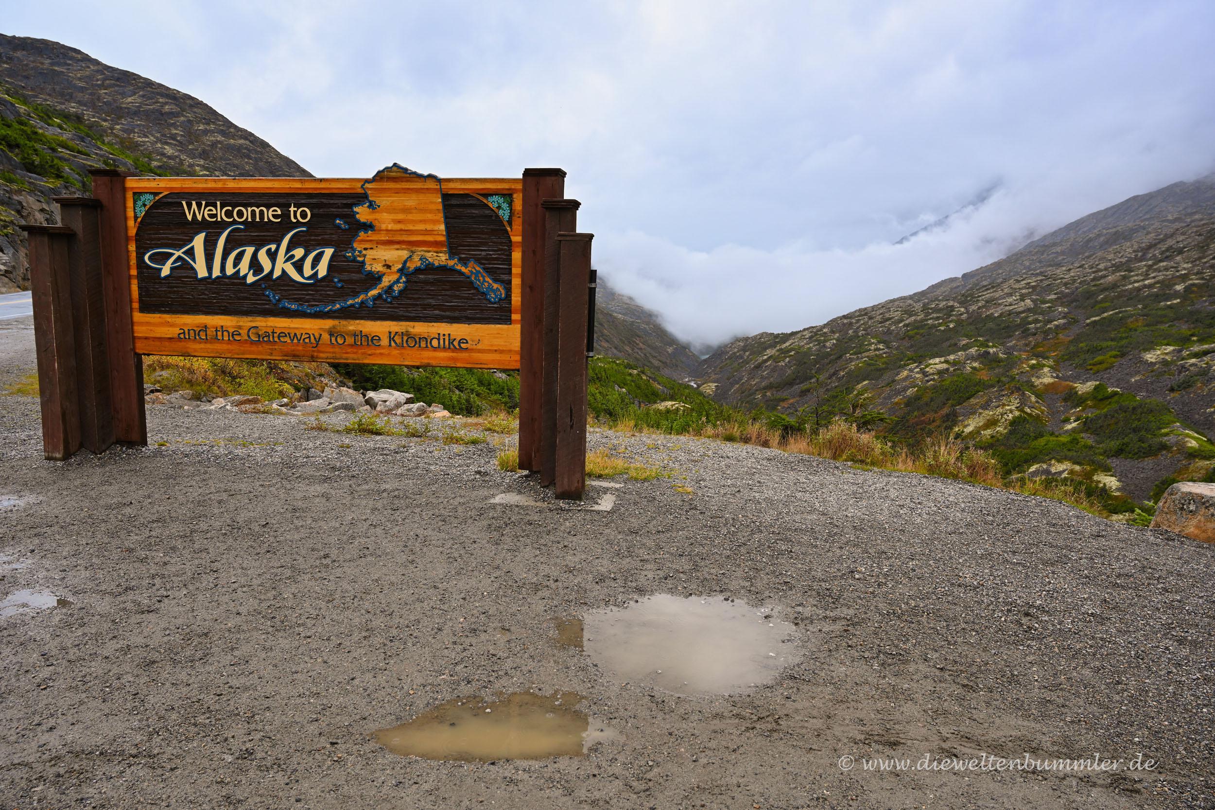 Alaska ohne Nebel
