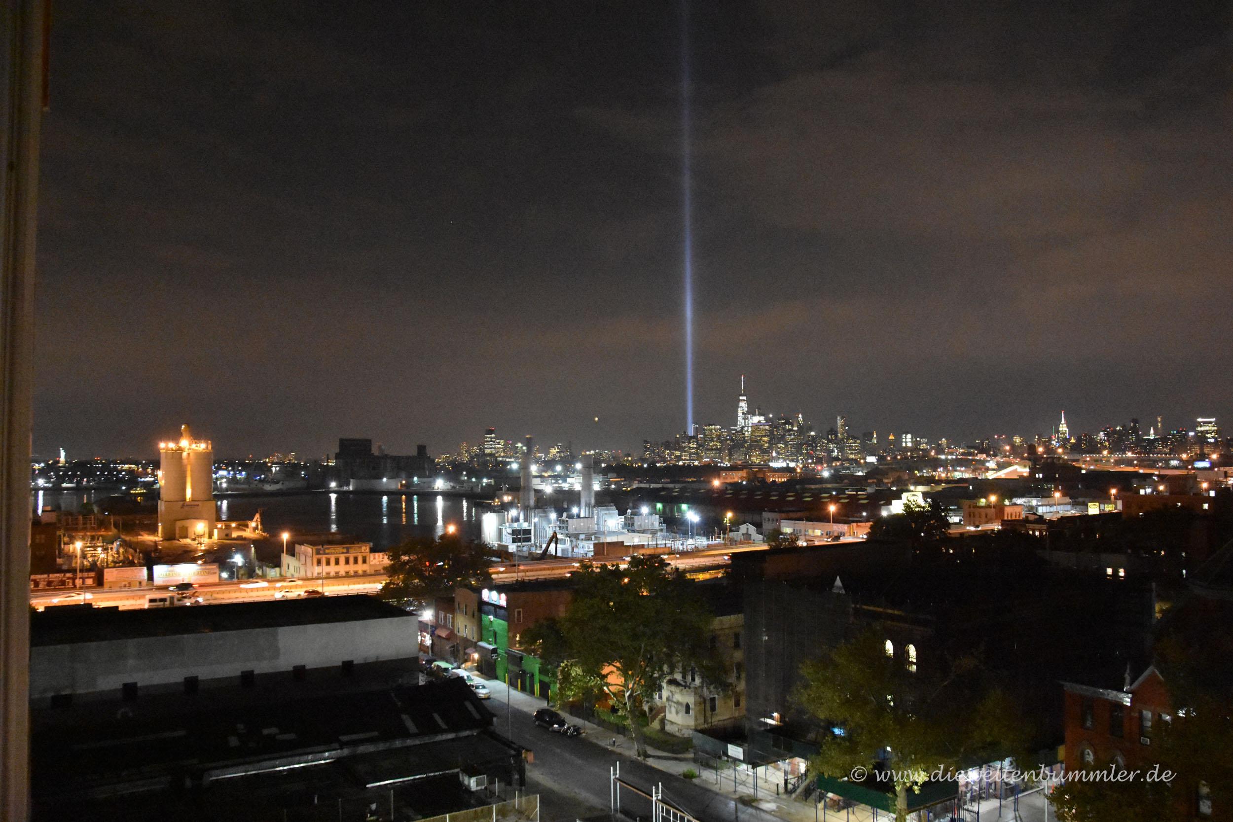 Ausblick von den Hotels in Brooklyn