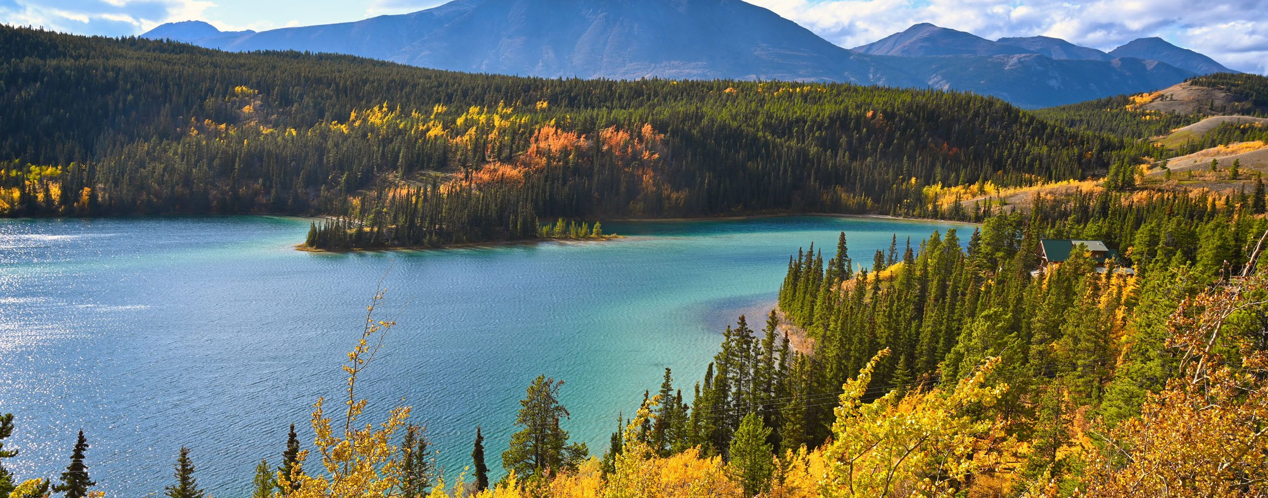 Emerald Lake bei Carcross
