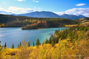 Emerald Lake bei Carcross