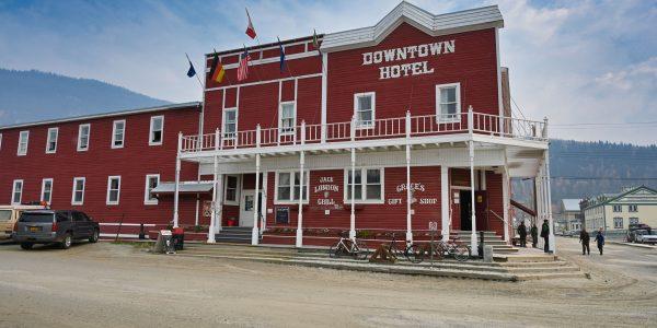 Hotel in Dawson City