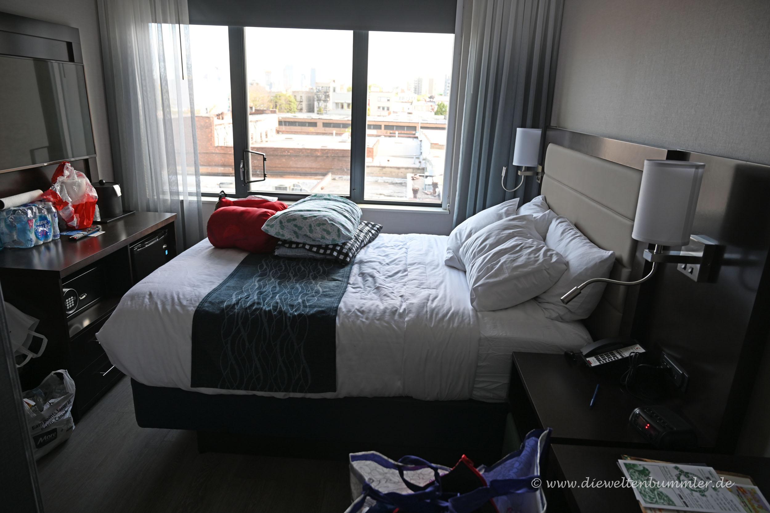 Hotelzimmer im Comfort Inn Prospect Park