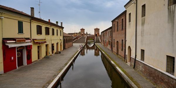 Kanal in Comacchio