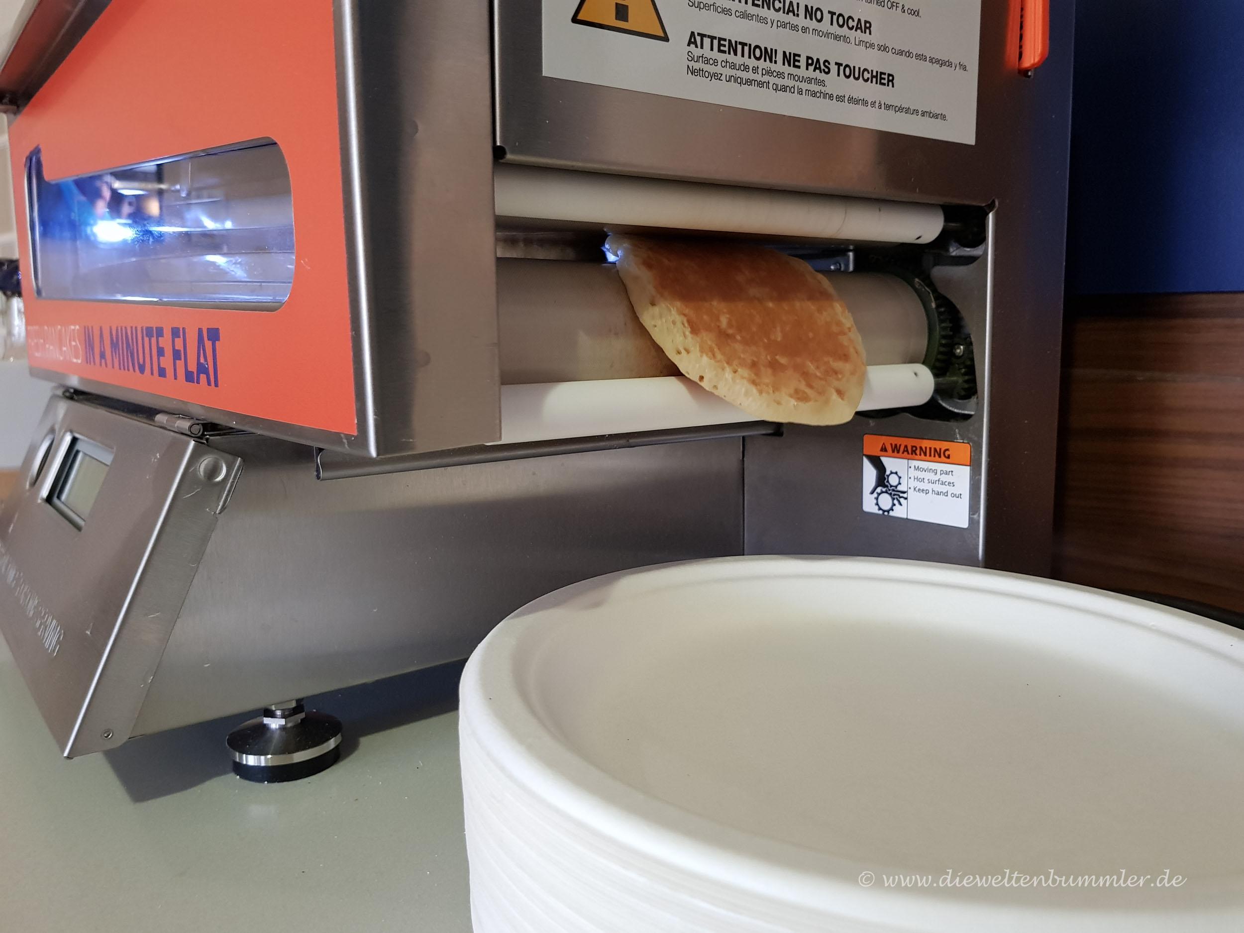 Pancake aus dem Automaten