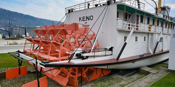 SS Keno in Dawson