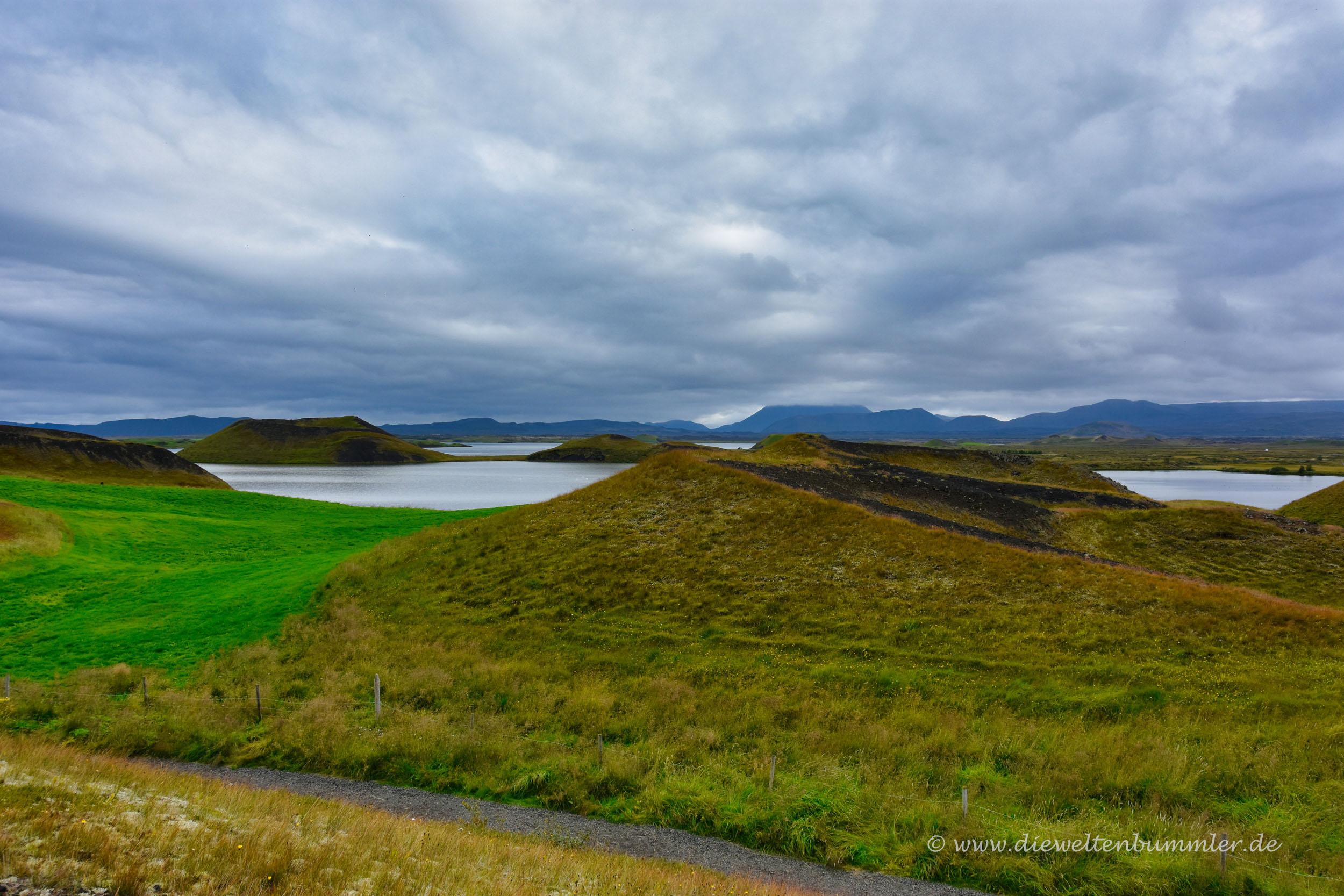 Am Ufer vom Mývatn